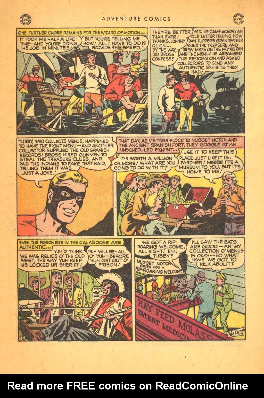 Read online Adventure Comics (1938) comic -  Issue #148 - 48