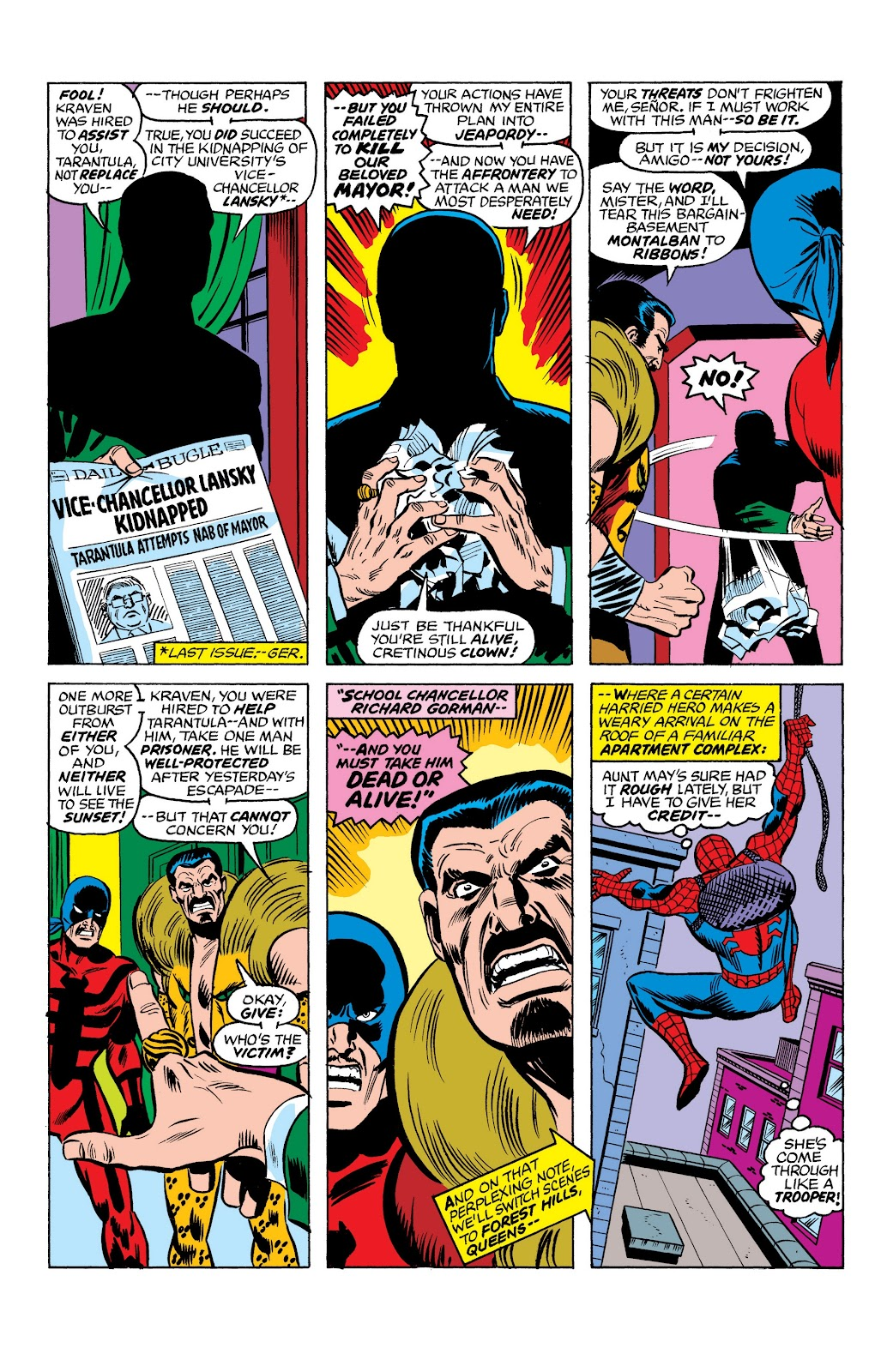 Read online Marvel Masterworks: The Spectacular Spider-Man comic -  Issue # TPB (Part 1) - 31