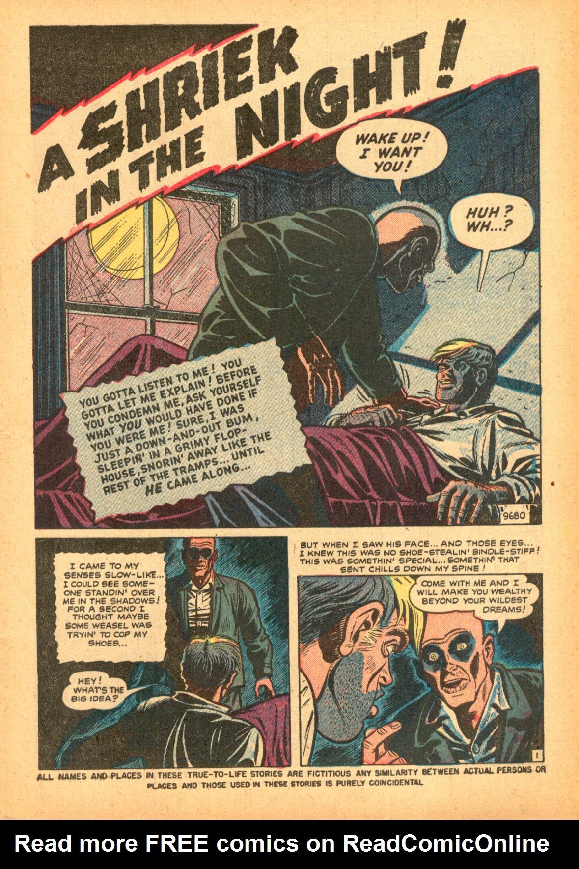 Read online Adventures into Weird Worlds comic -  Issue #3 - 3