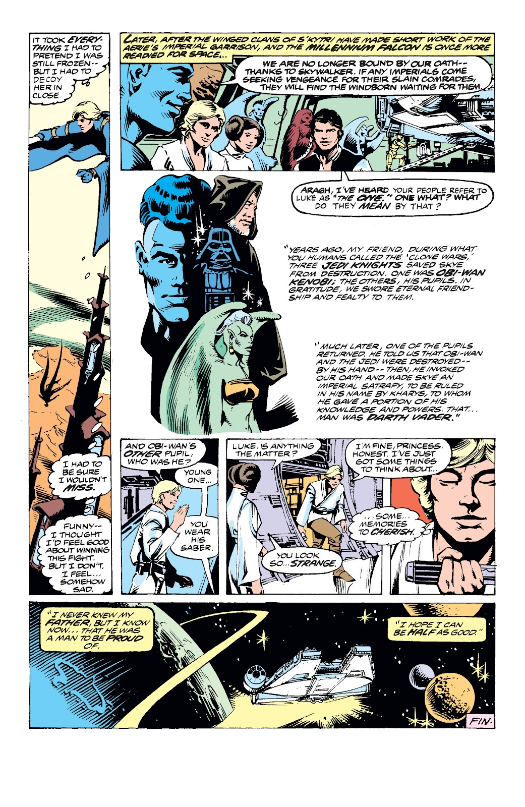 Read online Star Wars Legends: The Original Marvel Years - Epic Collection comic -  Issue # TPB 2 (Part 3) - 35