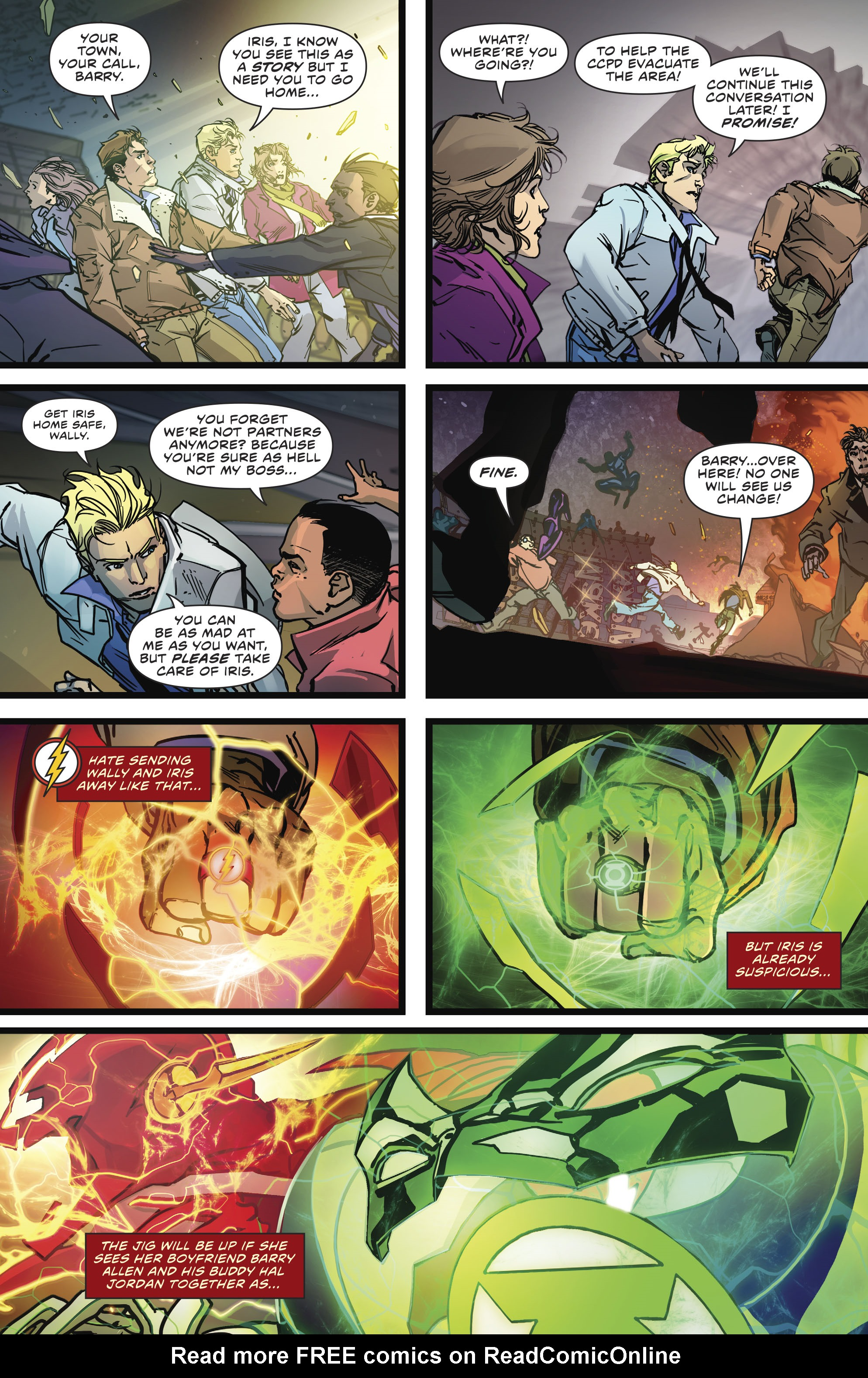 Read online The Flash (2016) comic -  Issue #23 - 15