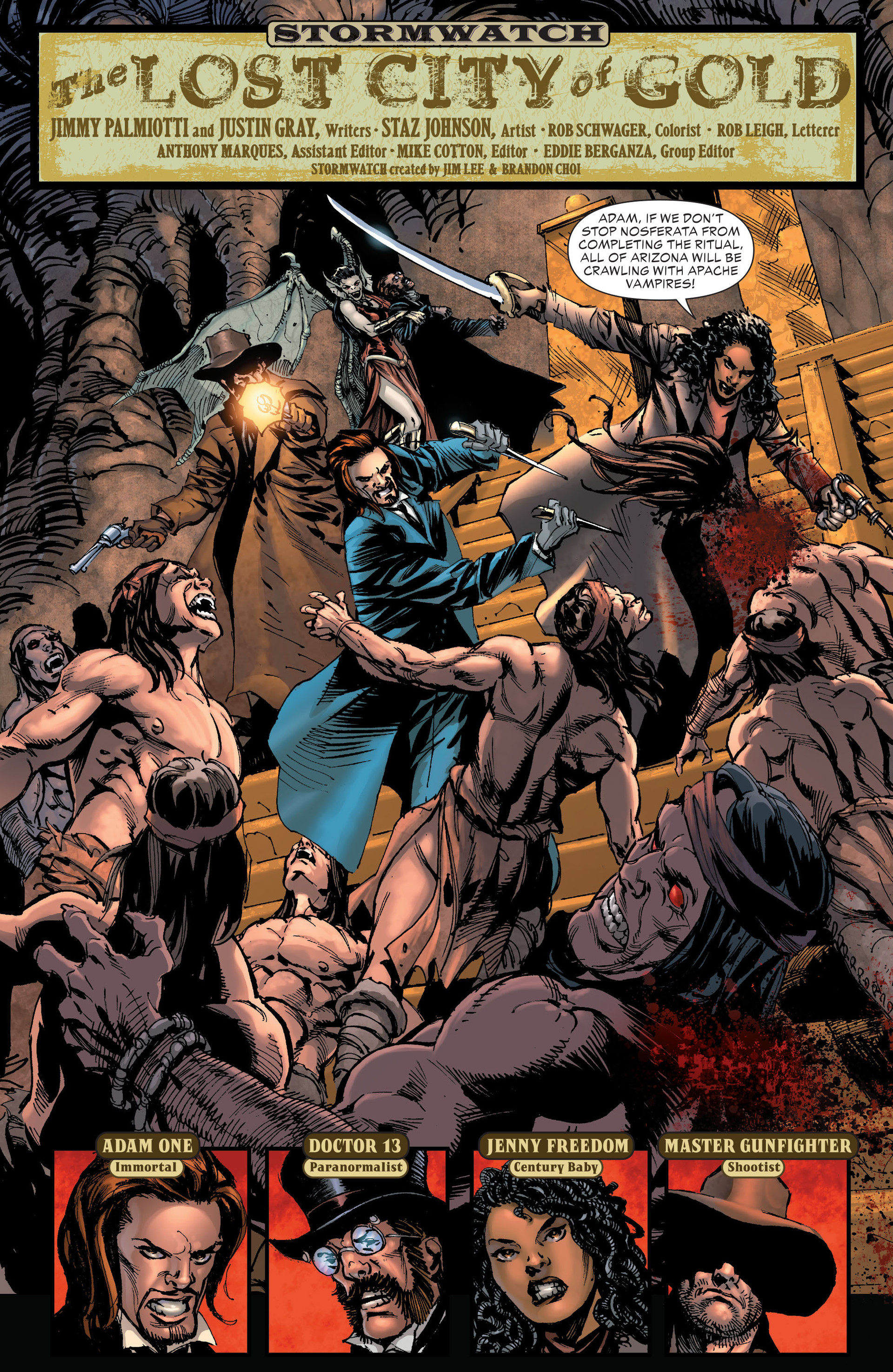 Read online All-Star Western (2011) comic -  Issue #20 - 21