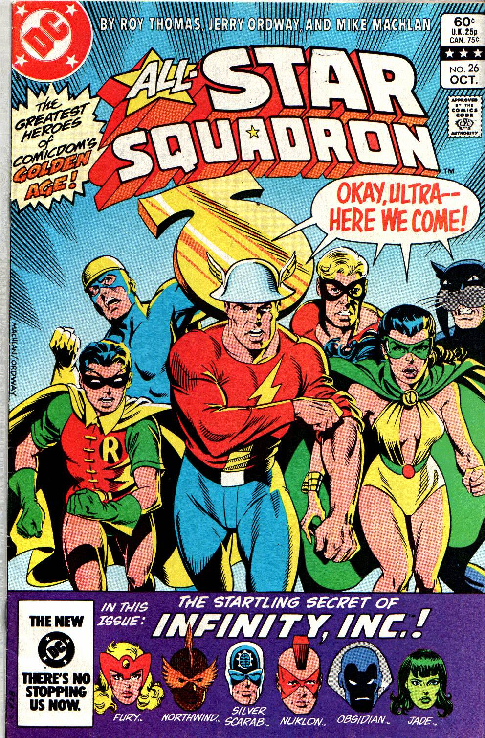 All-Star Squadron 26 Page 1