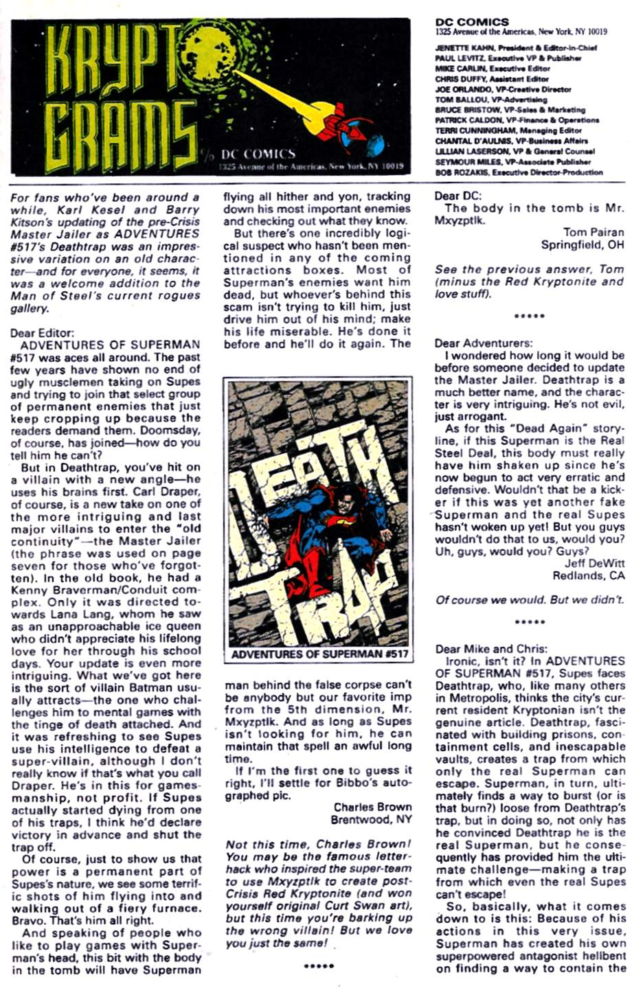 Read online Adventures of Superman (1987) comic -  Issue #521 - 24