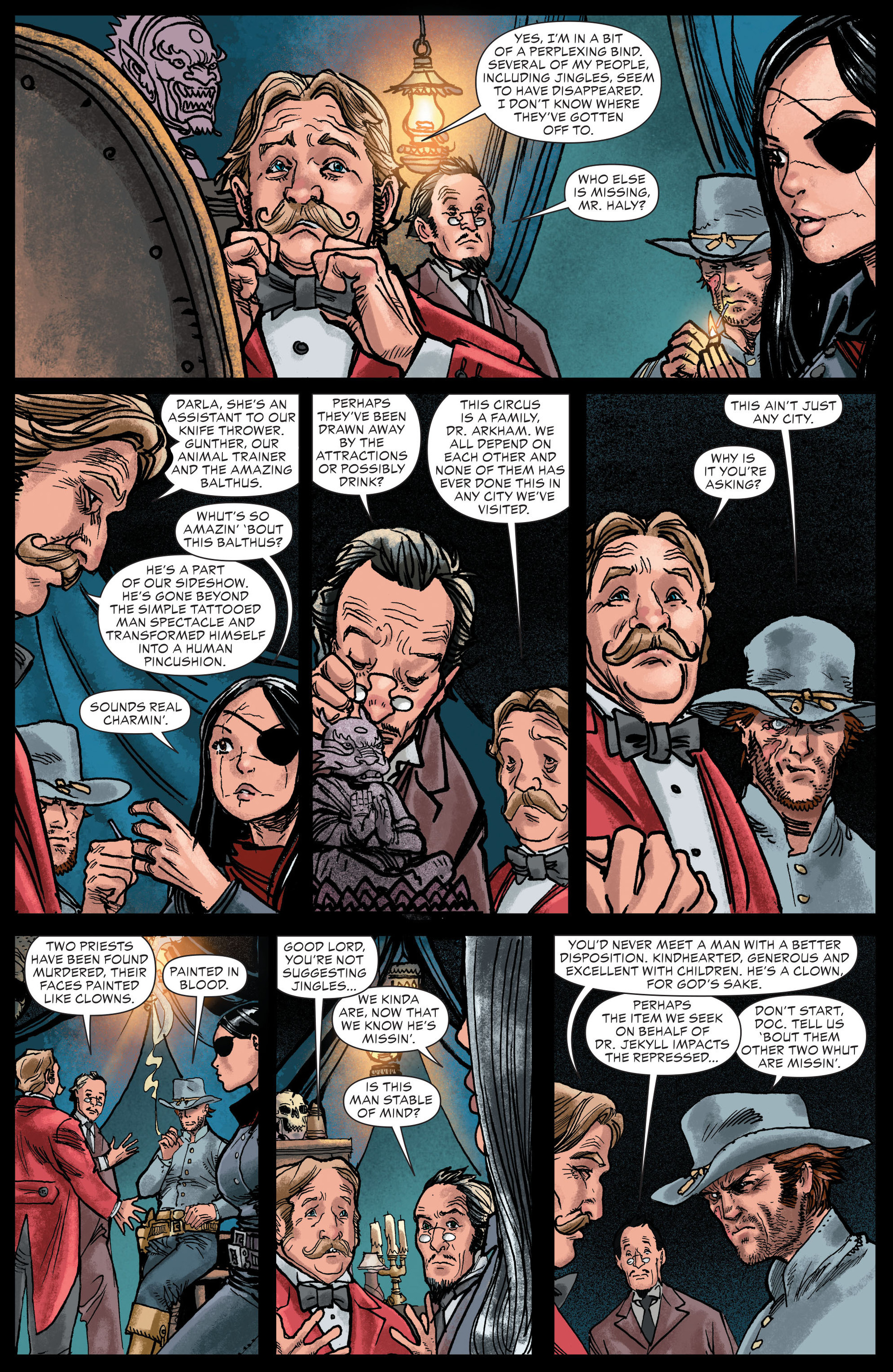 Read online All-Star Western (2011) comic -  Issue #13 - 13