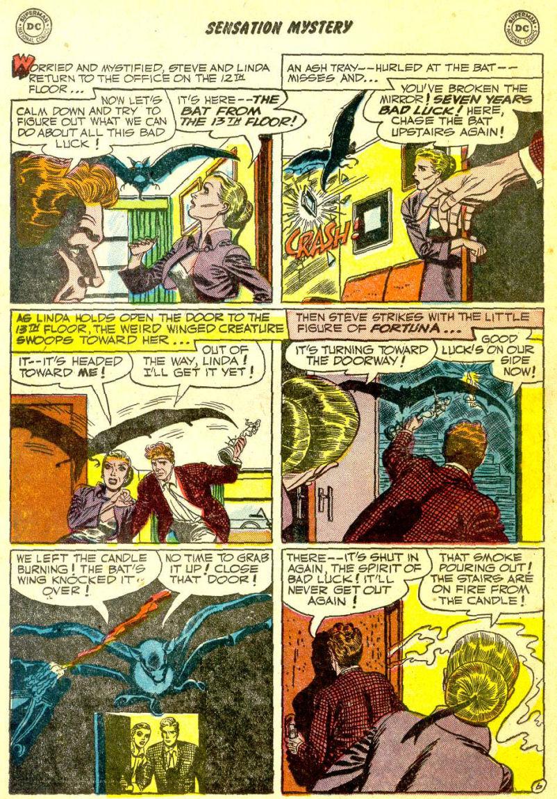 Read online Sensation (Mystery) Comics comic -  Issue #111 - 20