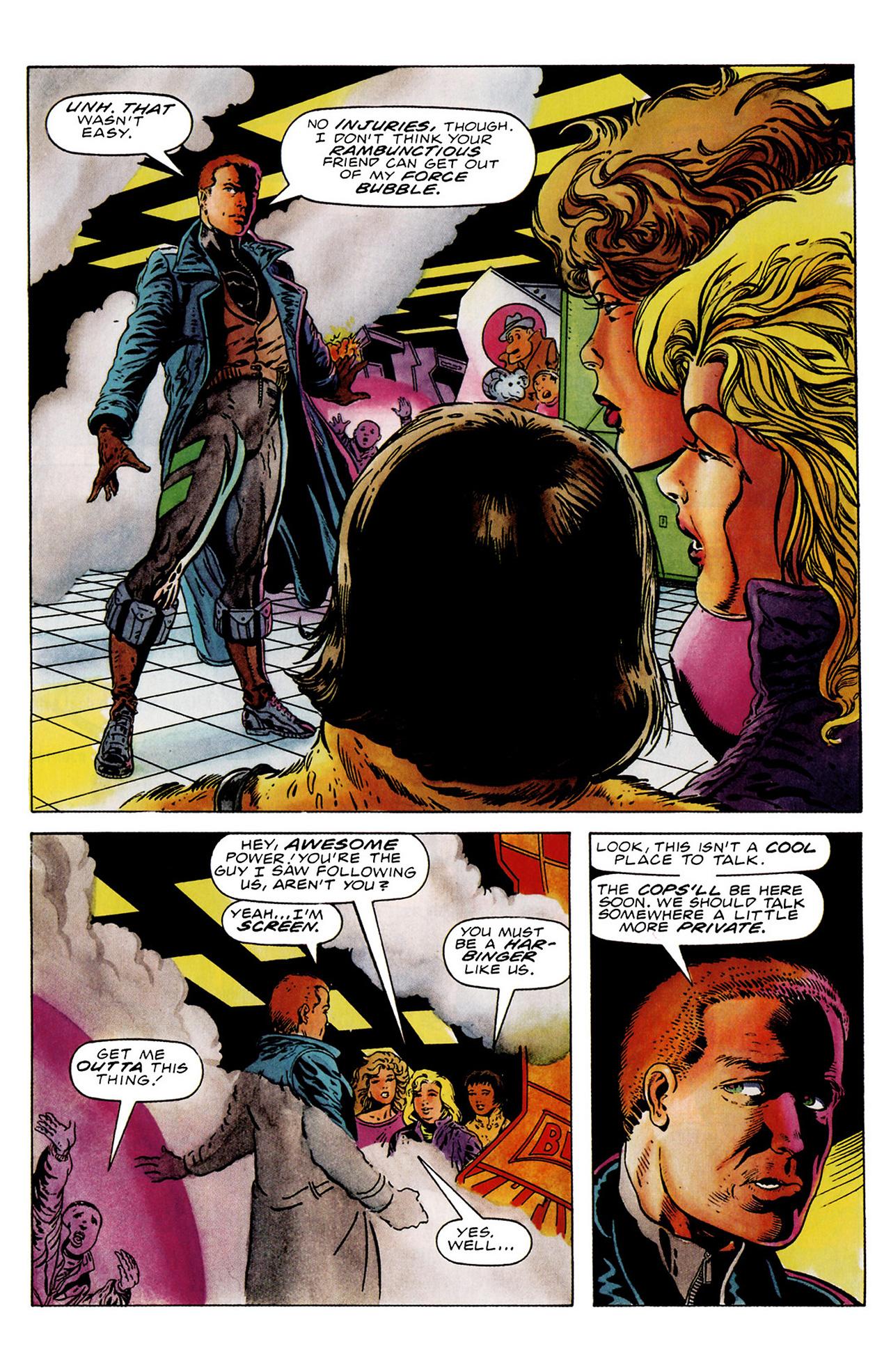 Read online Harbinger (1992) comic -  Issue #18 - 6