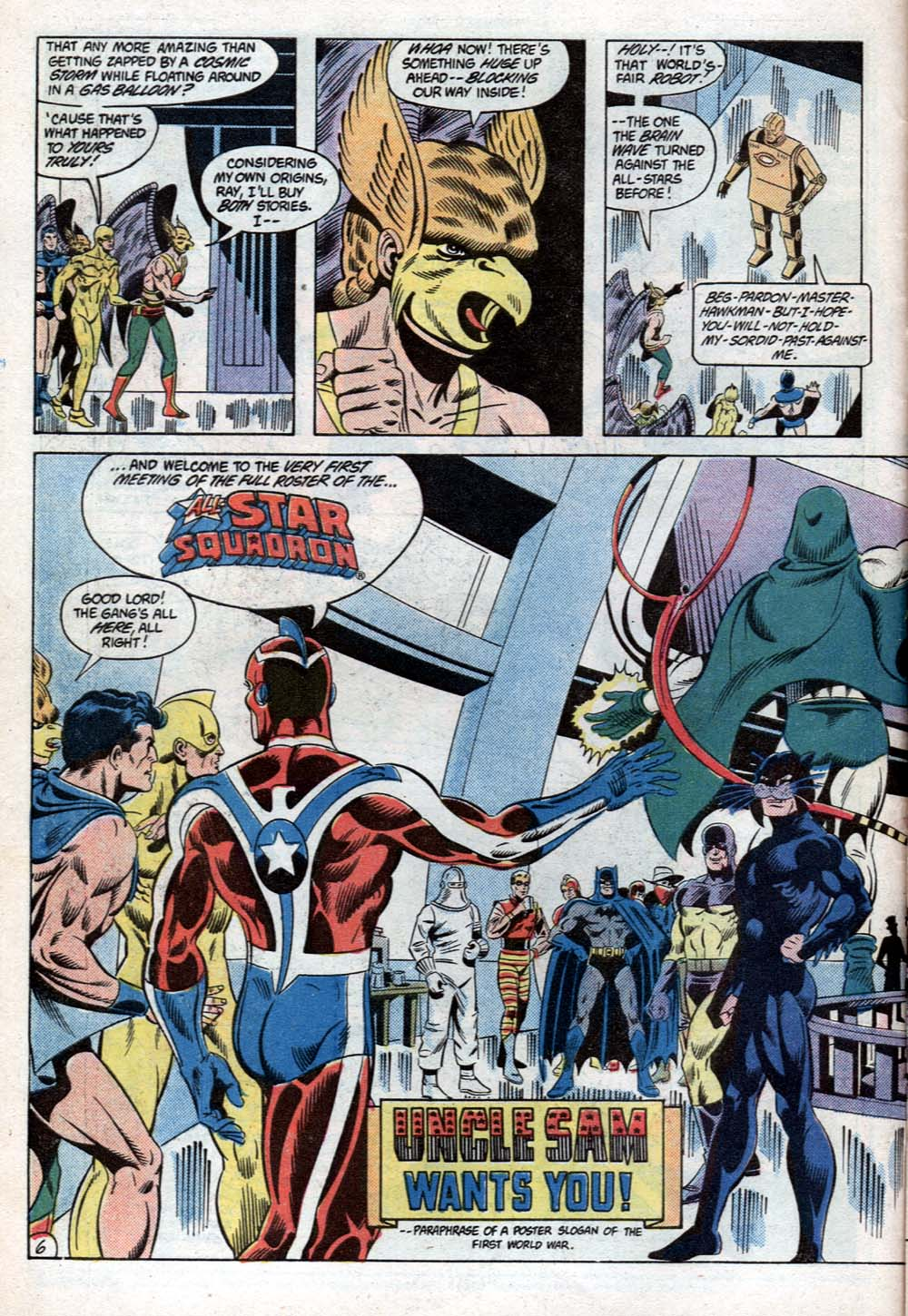 Read online All-Star Squadron comic -  Issue #31 - 7