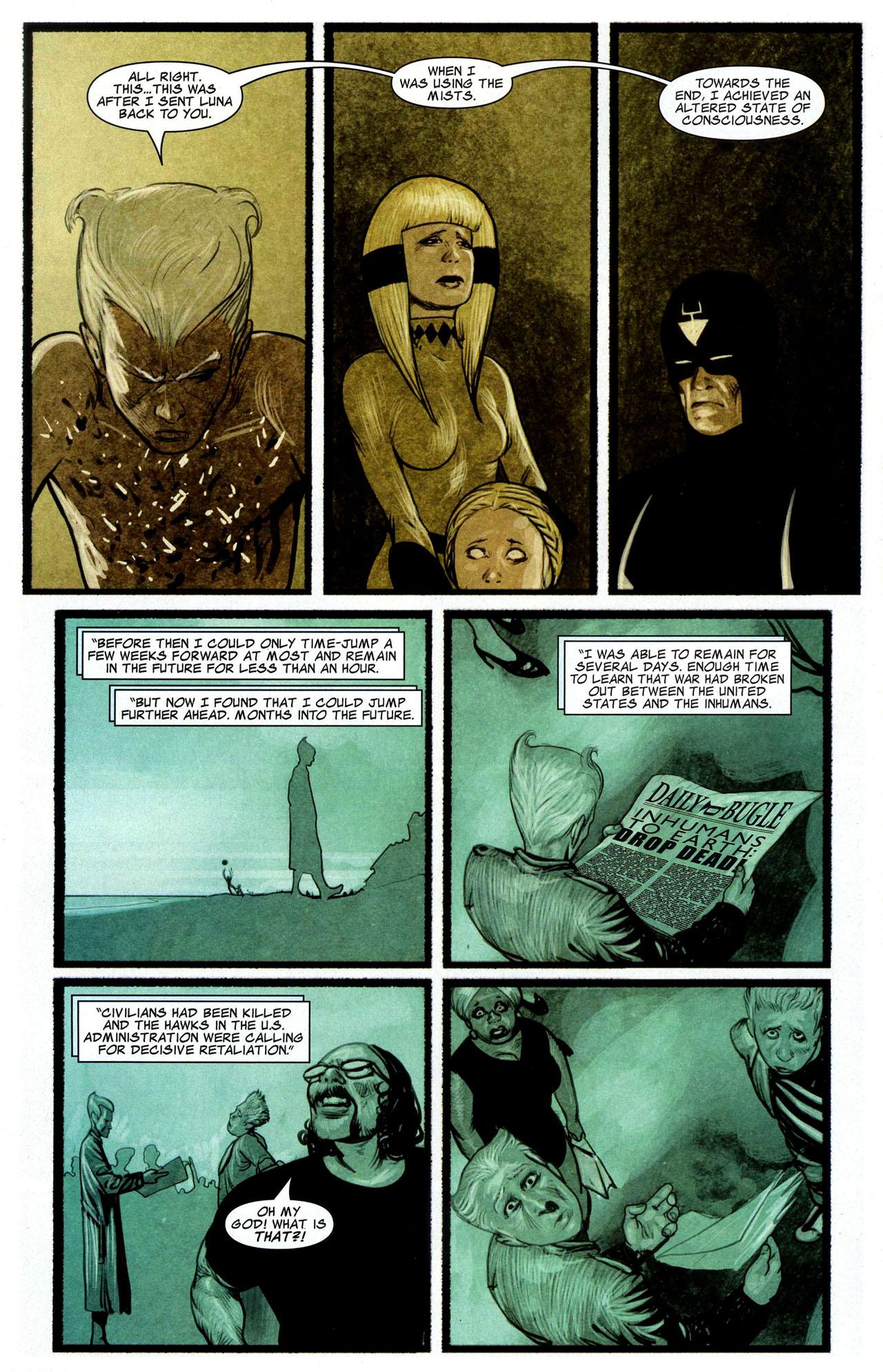 Read online Silent War comic -  Issue #3 - 14