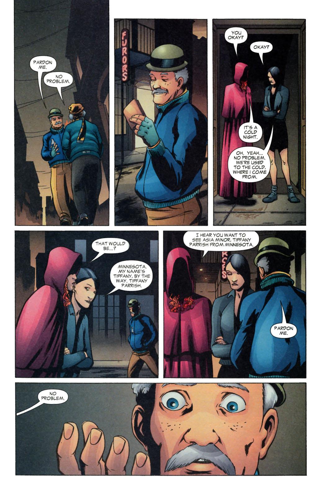 Read online Fallen Angel (2003) comic -  Issue #13 - 10