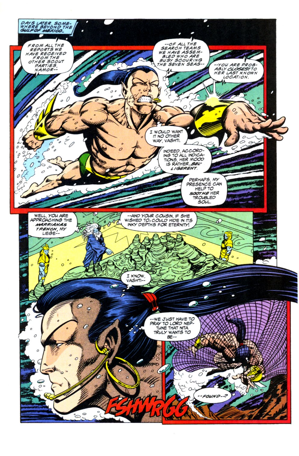 The New Warriors Issue #44 #48 - English 10