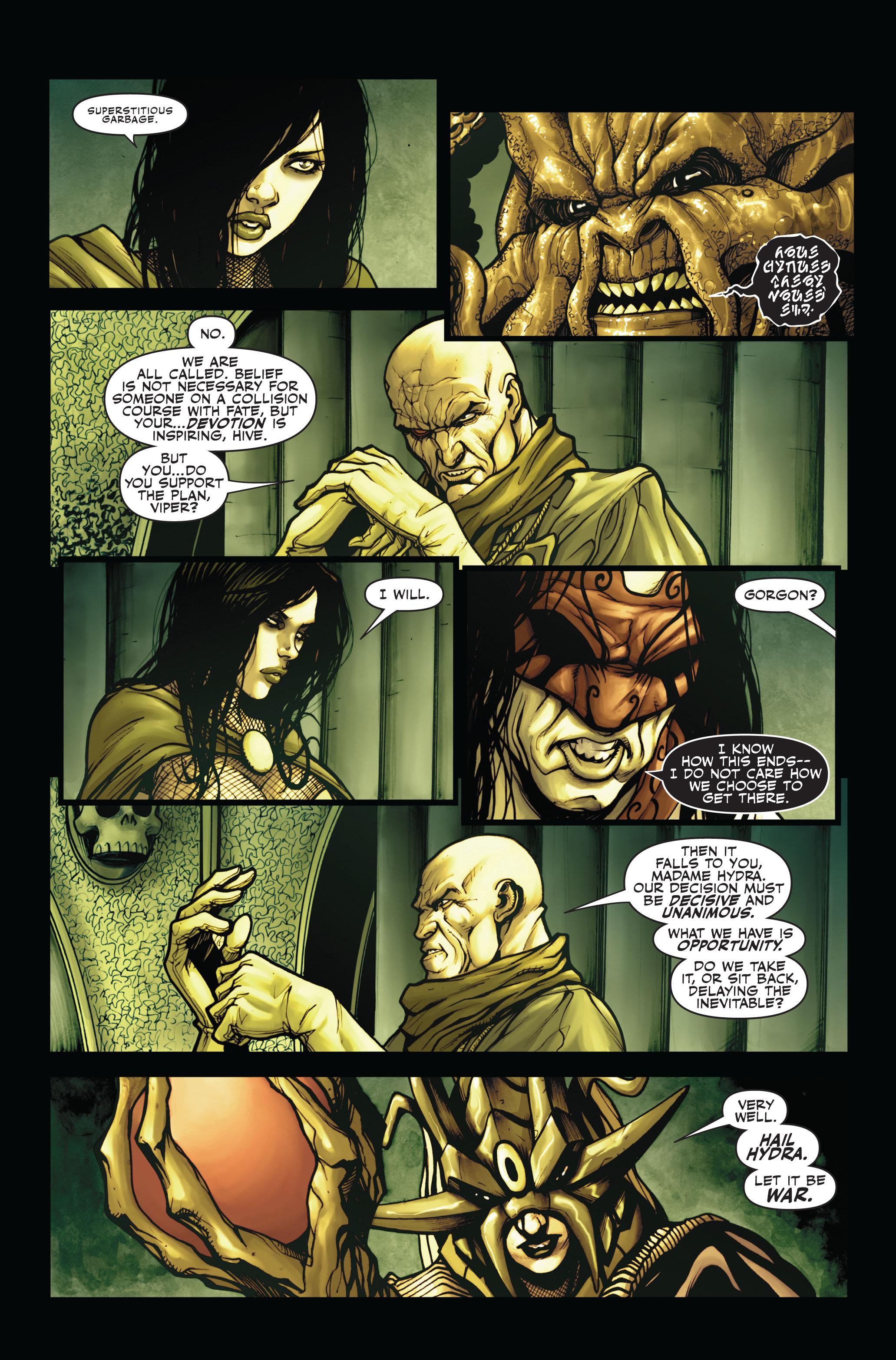 Read online Secret Warriors comic -  Issue #4 - 21