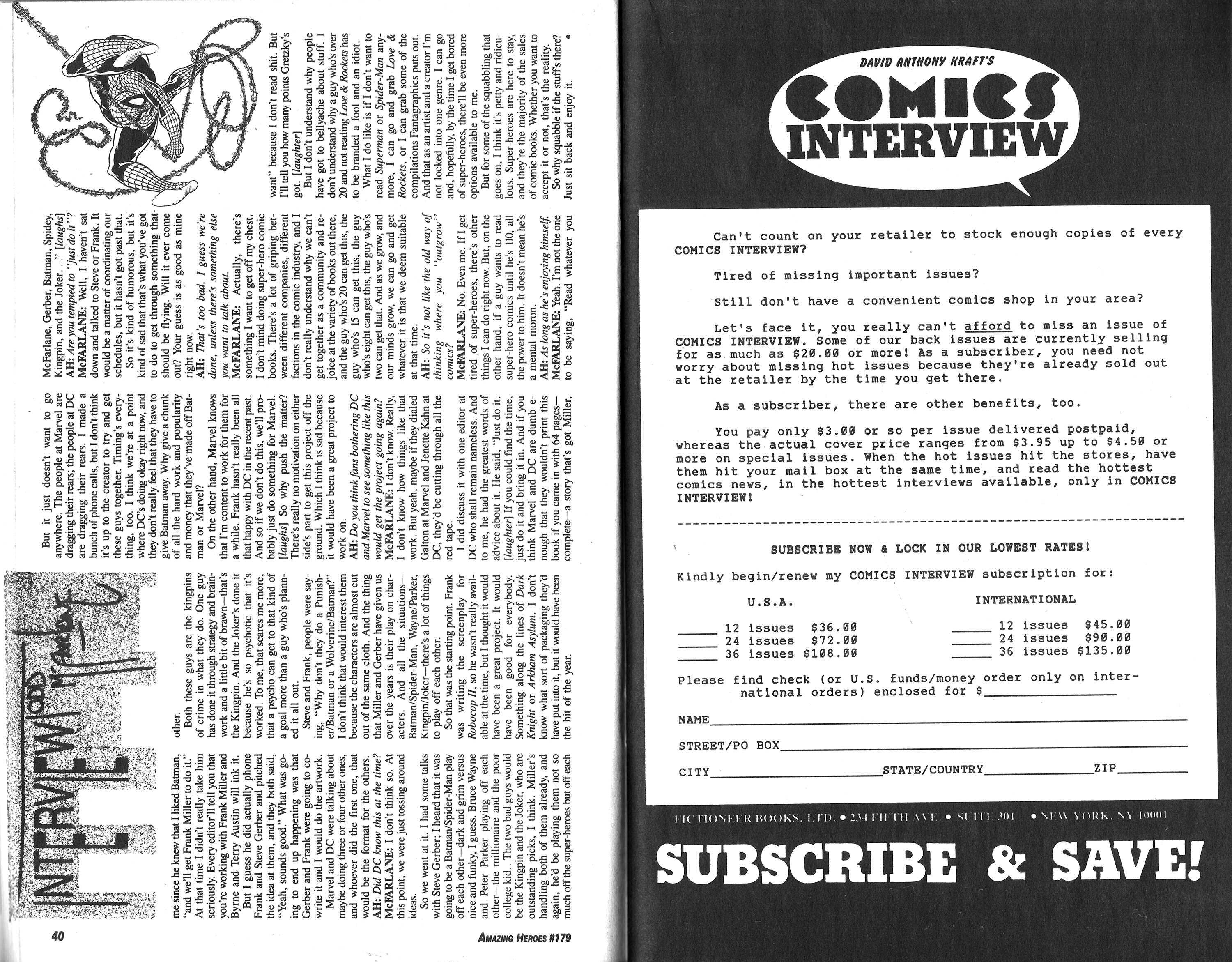 Read online Amazing Heroes comic -  Issue #179 - 21
