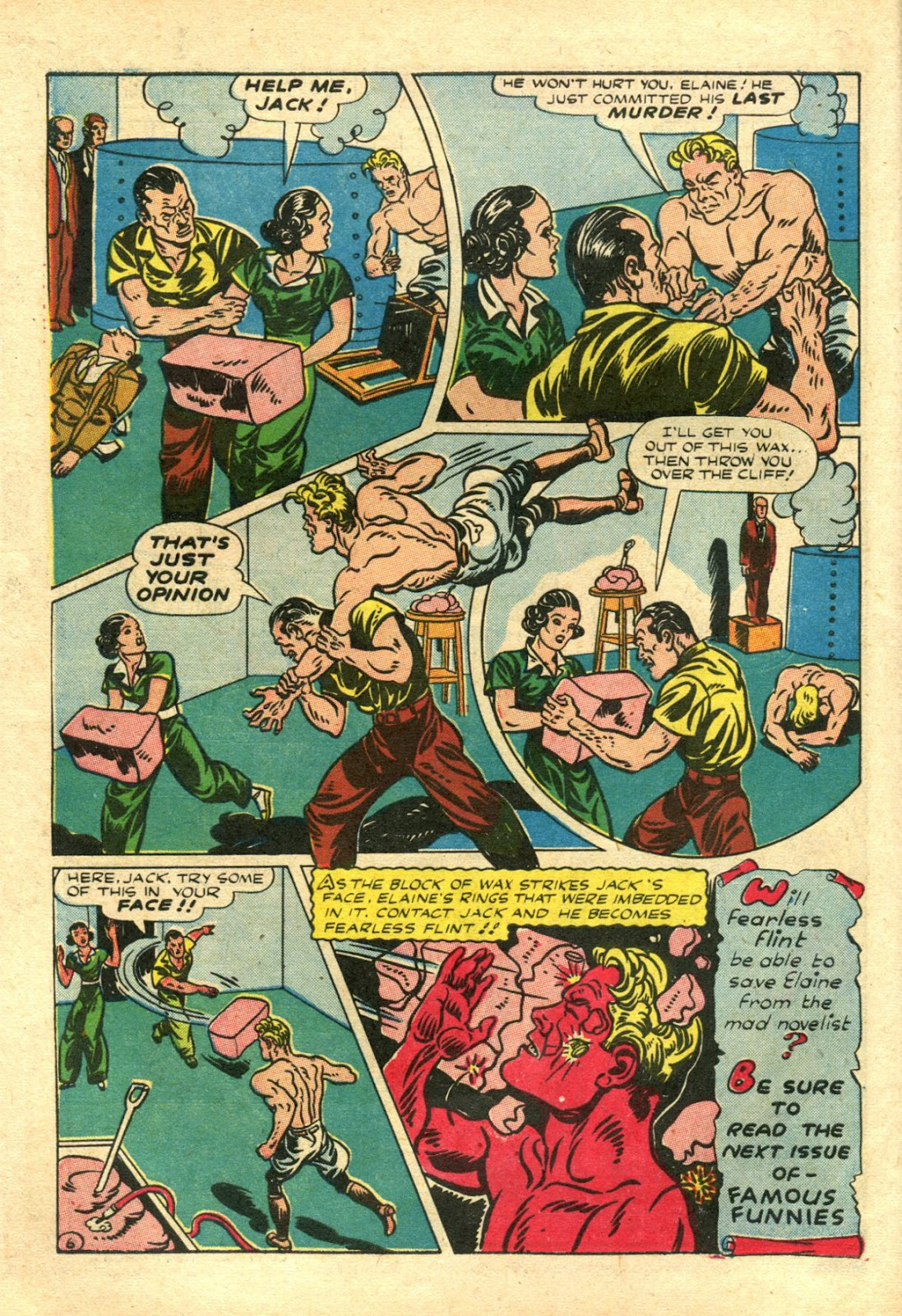 Read online Famous Funnies comic -  Issue #106 - 16