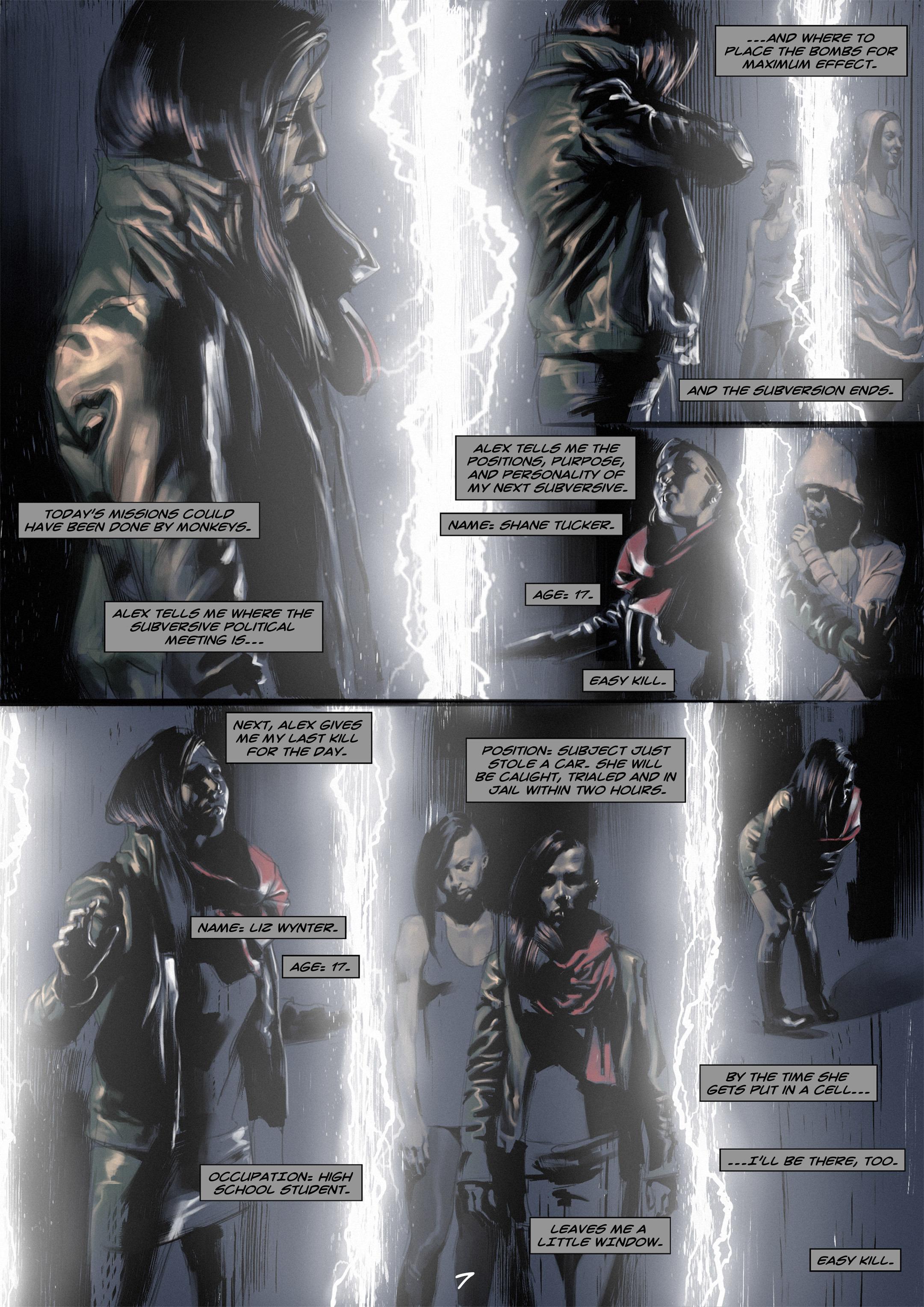 Read online Wynter comic -  Issue #2 - 8