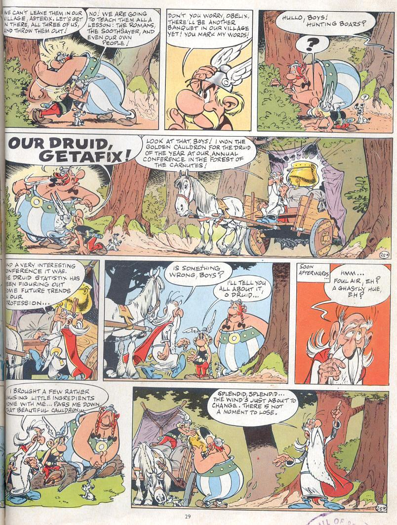 Read online Asterix comic -  Issue #19 - 26