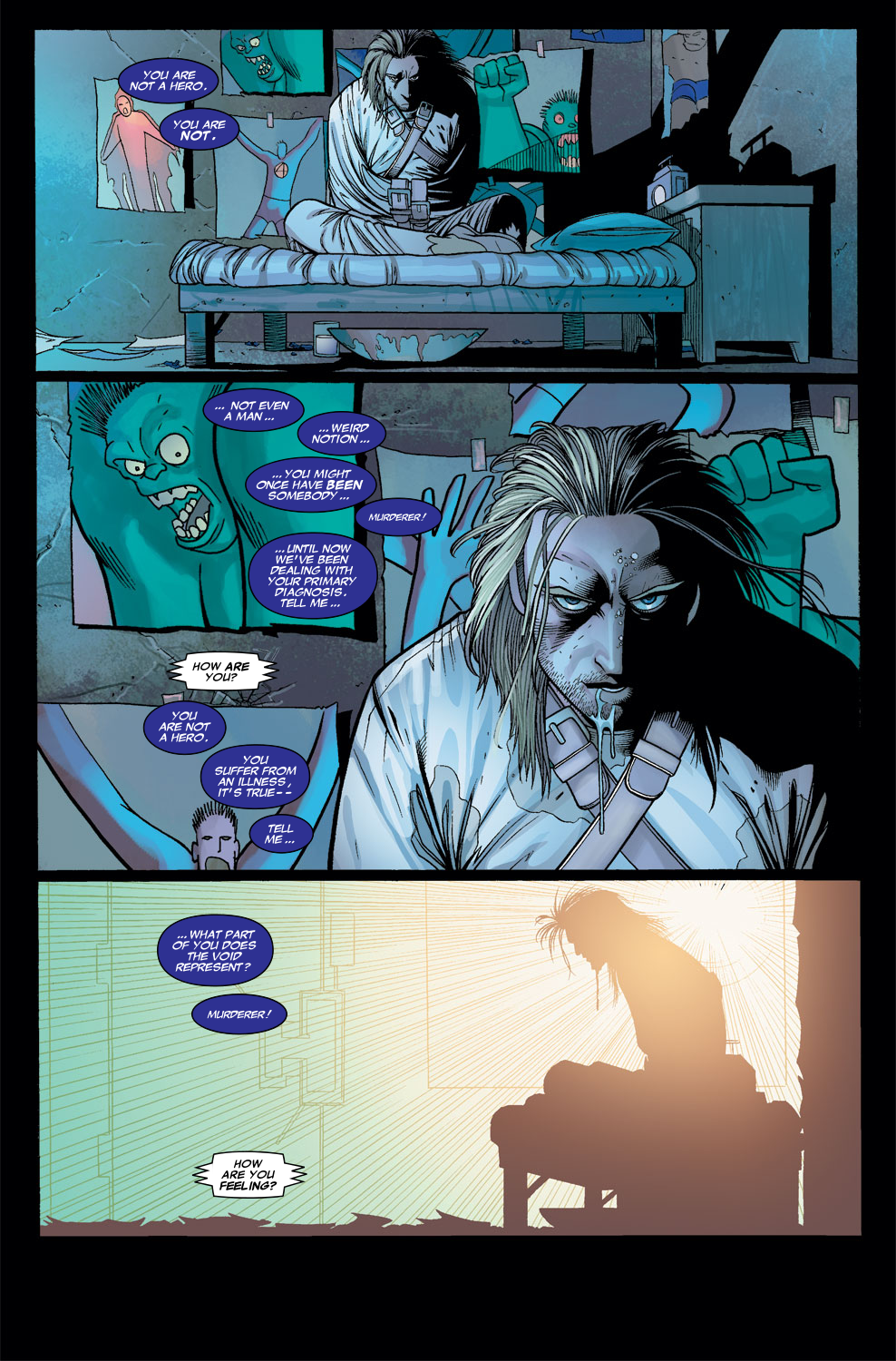 Read online Sentry (2006) comic -  Issue #7 - 2