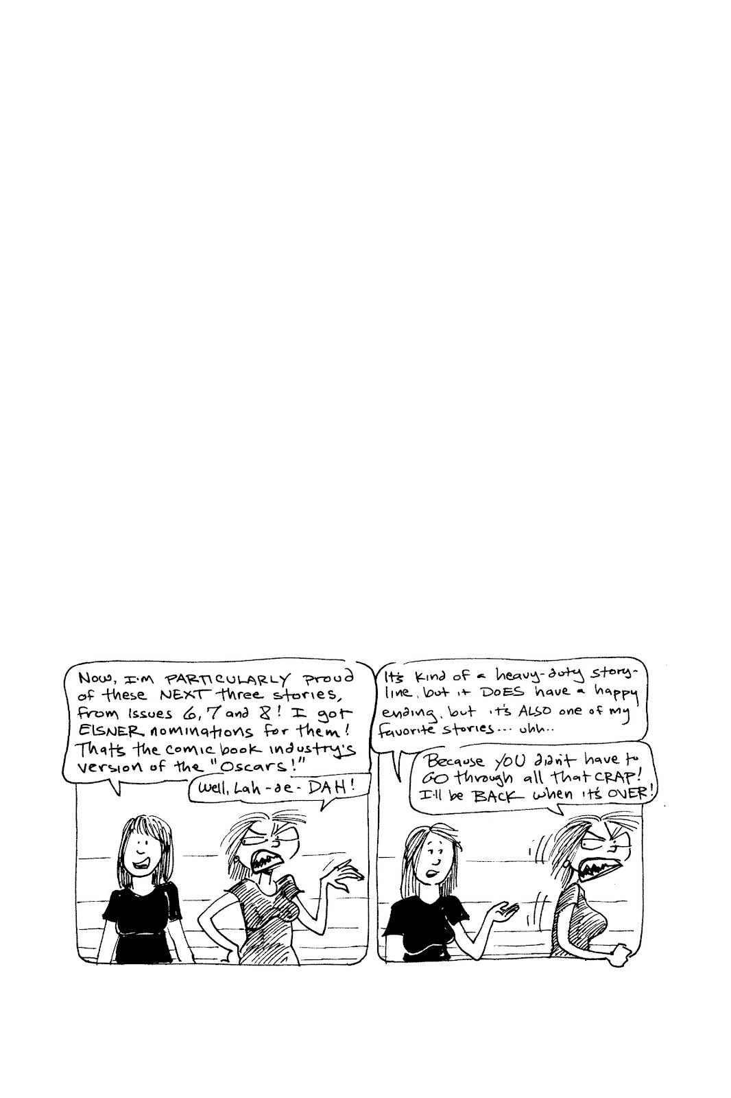 Read online Life's a Bitch: The Complete Bitchy Bitch Stories comic -  Issue # TPB (Part 3) - 1