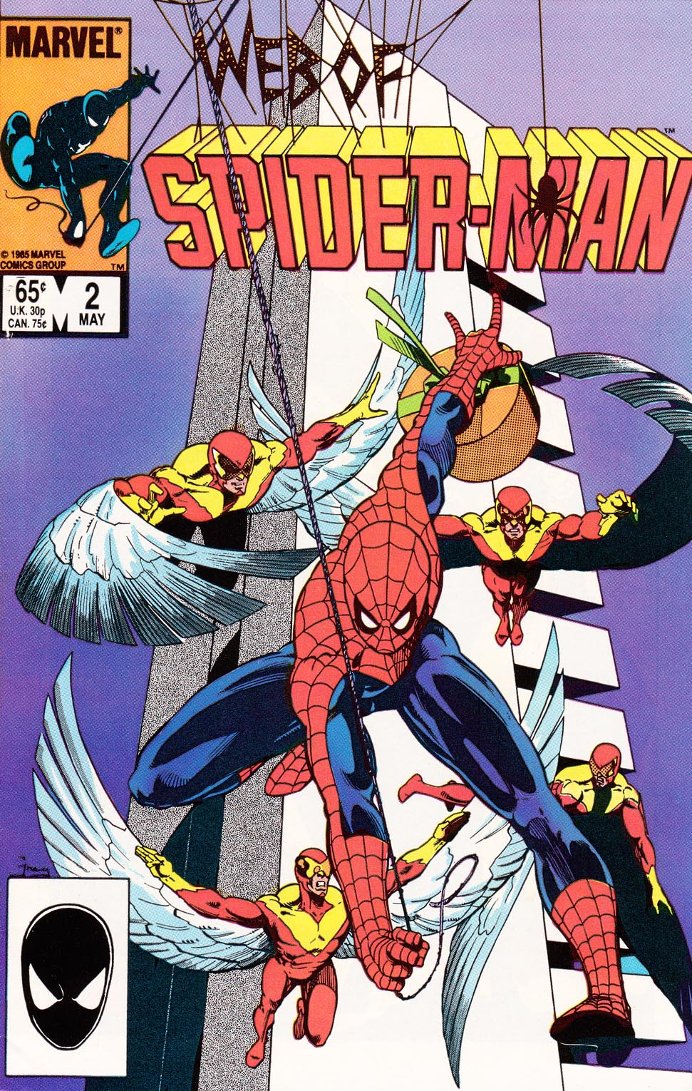 Web of Spider-Man (1985) Issue #2 #12 - English 1