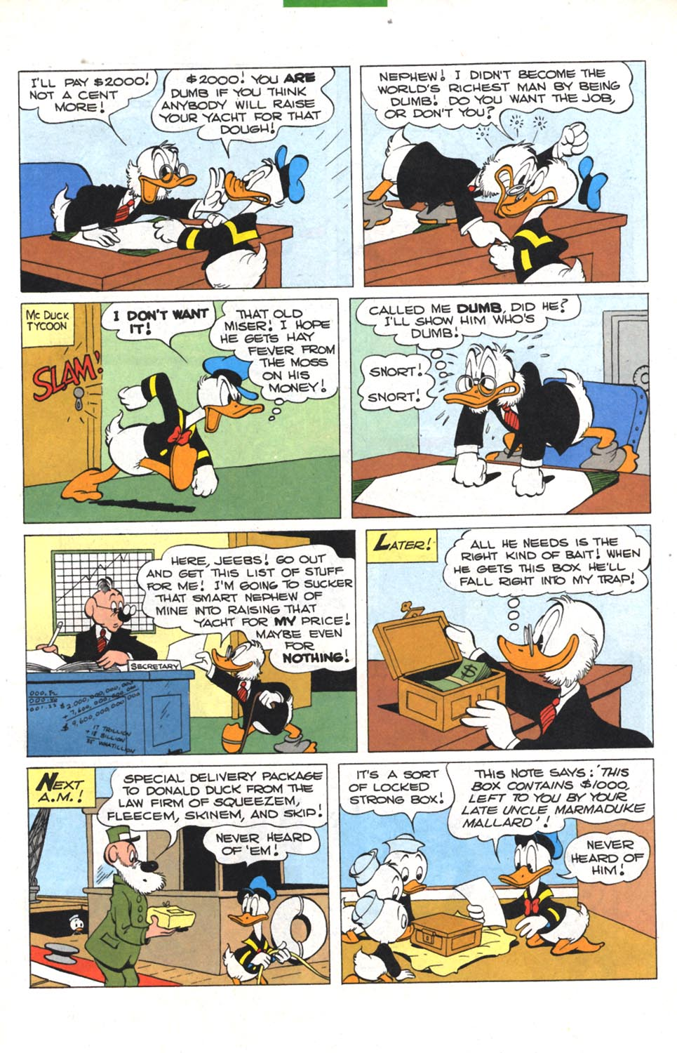 Read online Uncle Scrooge (1953) comic -  Issue #300 - 4