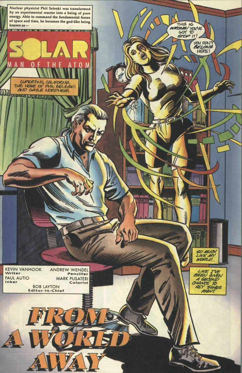 Read online Solar, Man of the Atom comic -  Issue #40 - 2