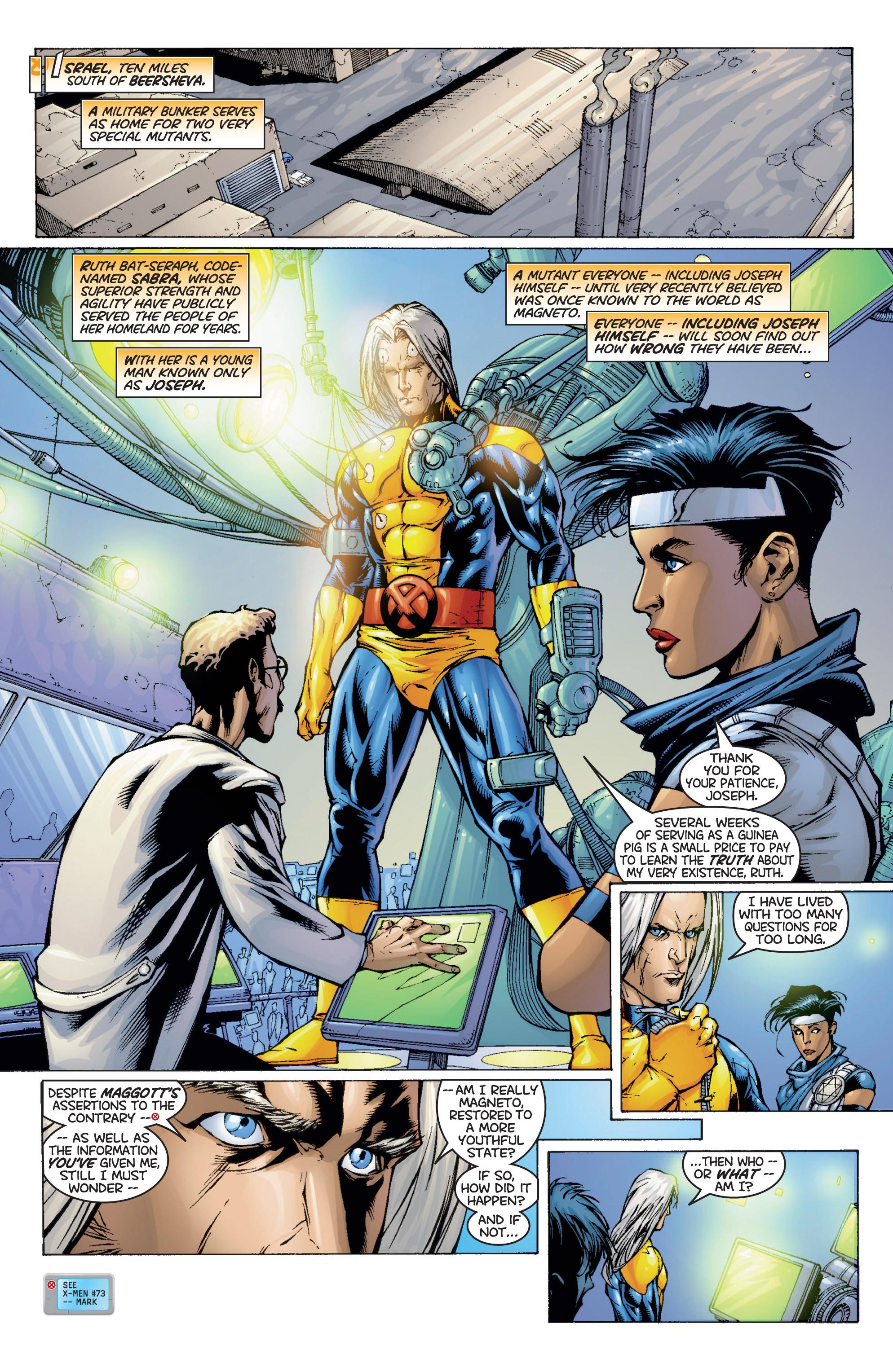Read online Uncanny X-Men (1963) comic -  Issue #366 - 7