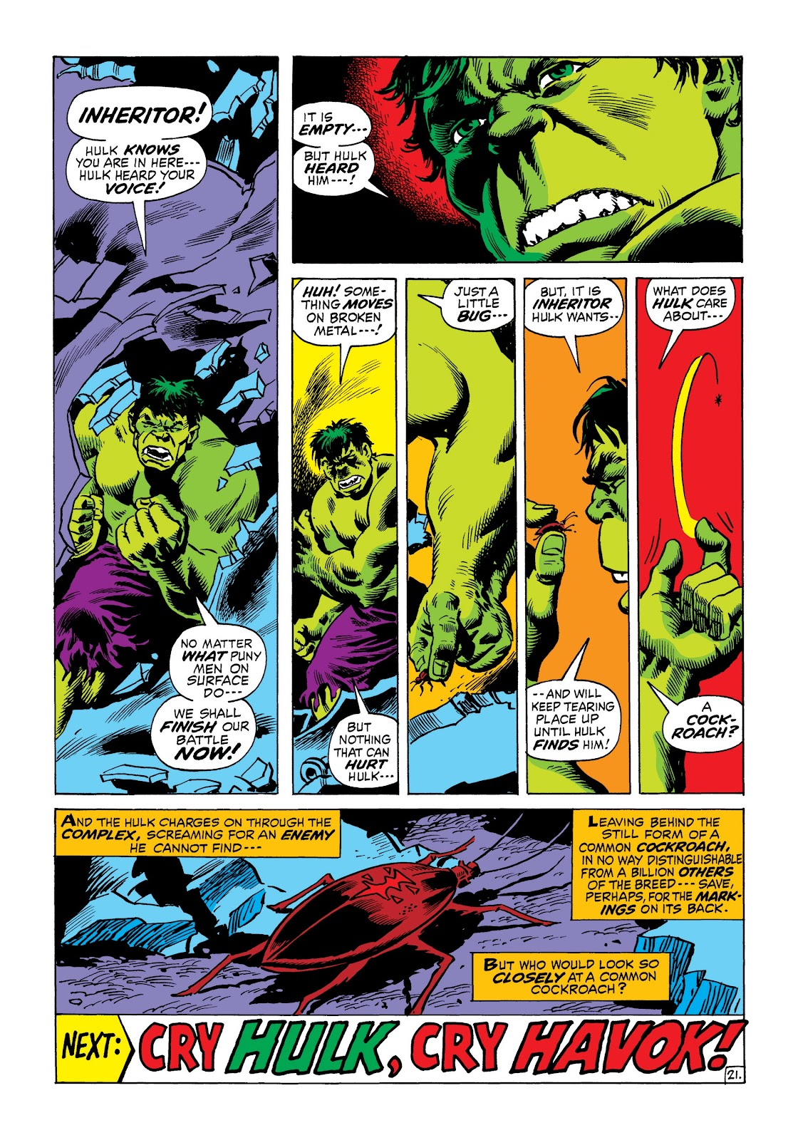 Read online Marvel Masterworks: The Incredible Hulk comic -  Issue # TPB 8 (Part 2) - 29