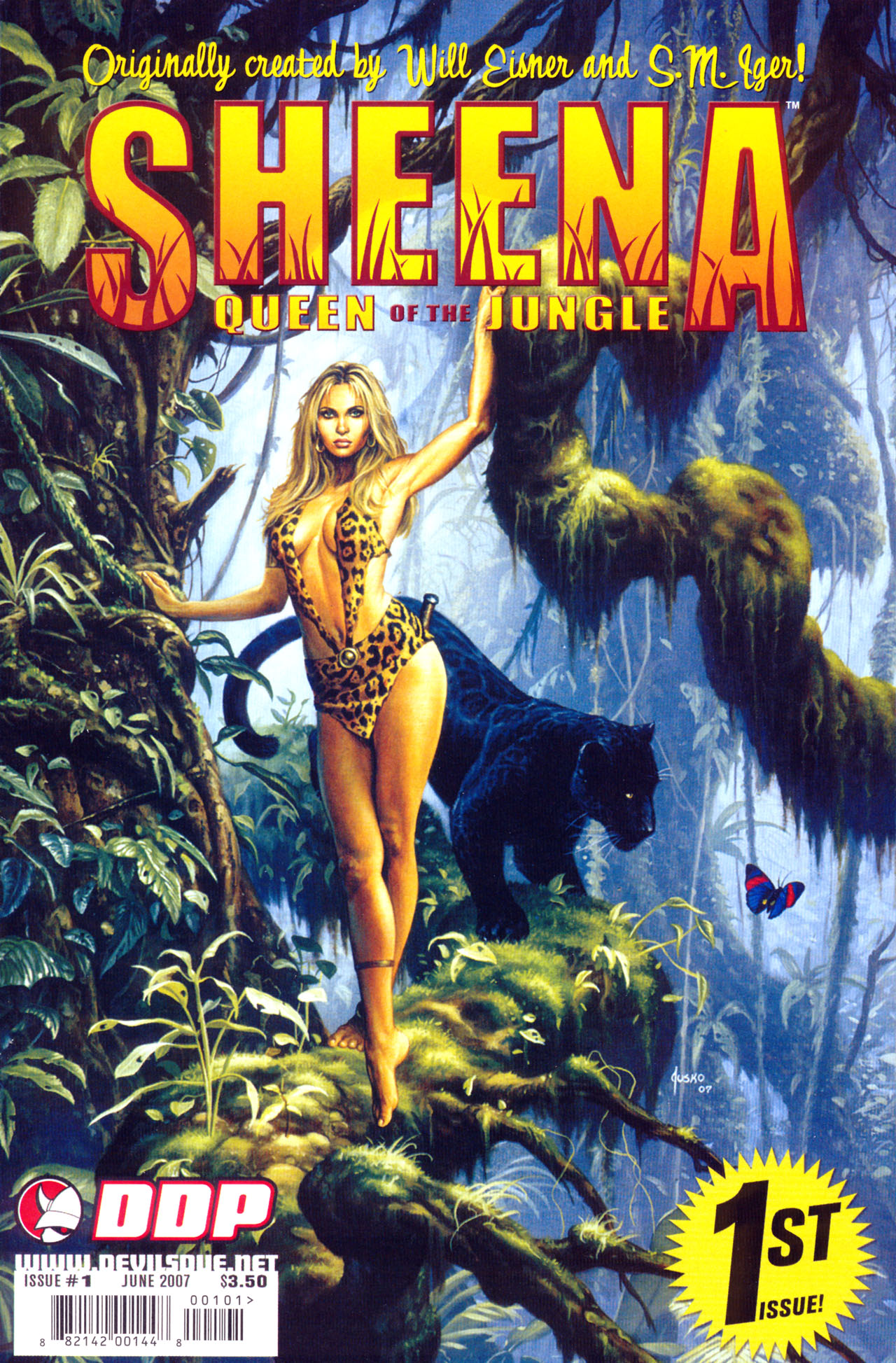 Read online Sheena, Queen of the Jungle comic -  Issue #1 - 1