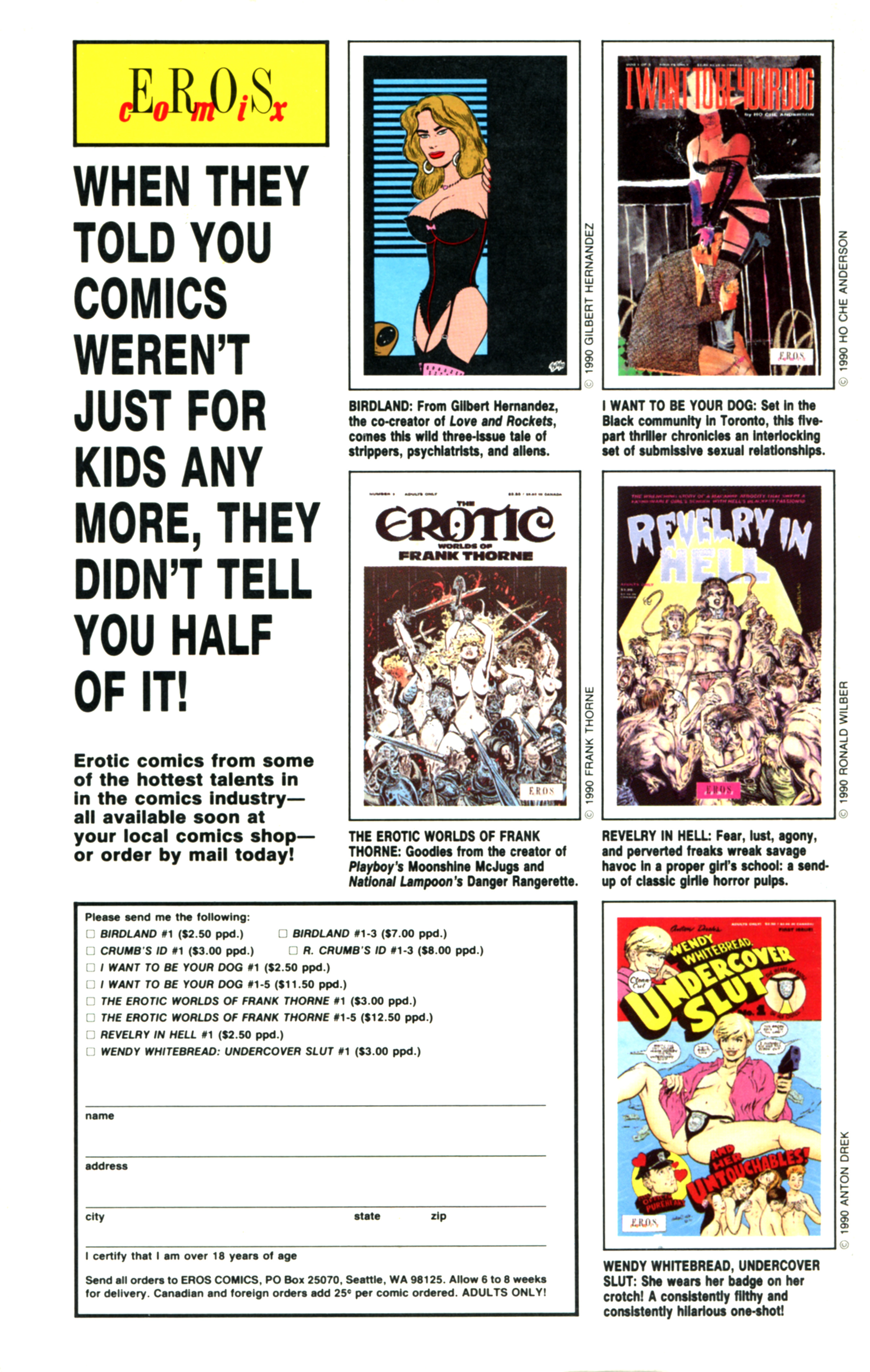 Read online Amazing Heroes comic -  Issue #184 - 63
