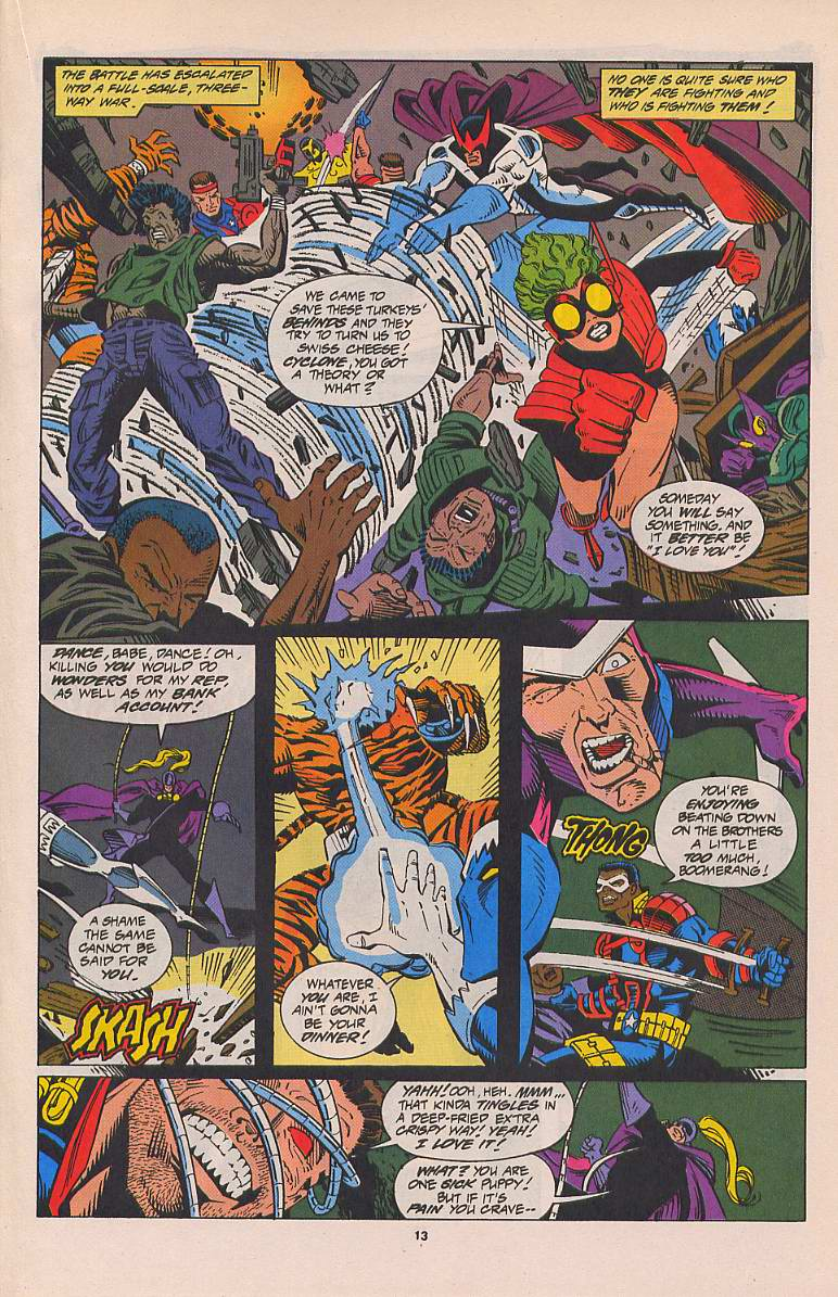 Read online Silver Sable and the Wild Pack comic -  Issue #22 - 10