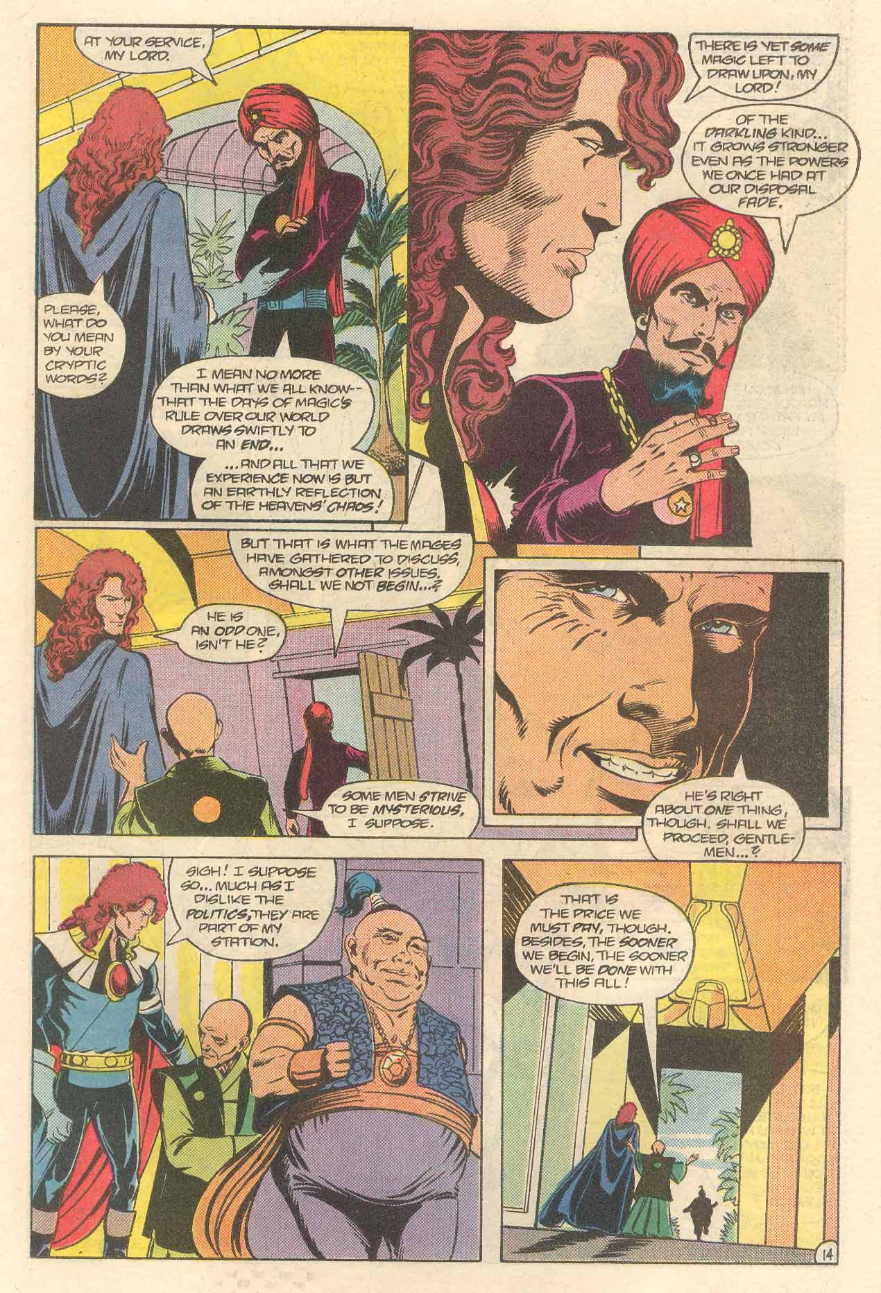Read online Arion, Lord of Atlantis comic -  Issue #34 - 15