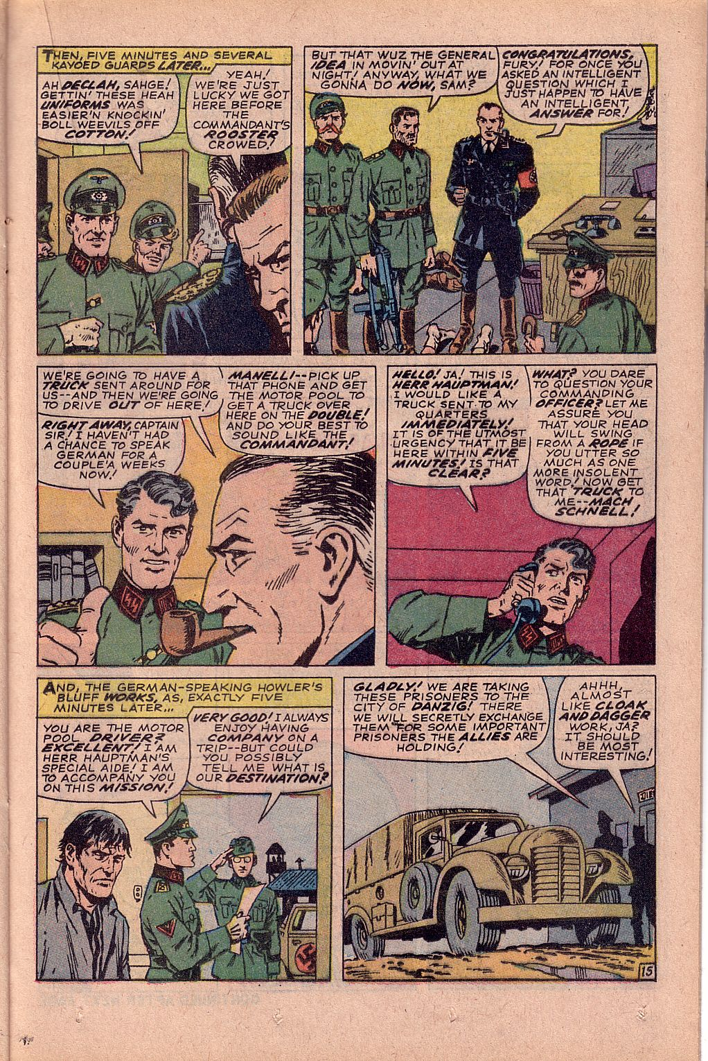 Read online Sgt. Fury comic -  Issue #52 - 21