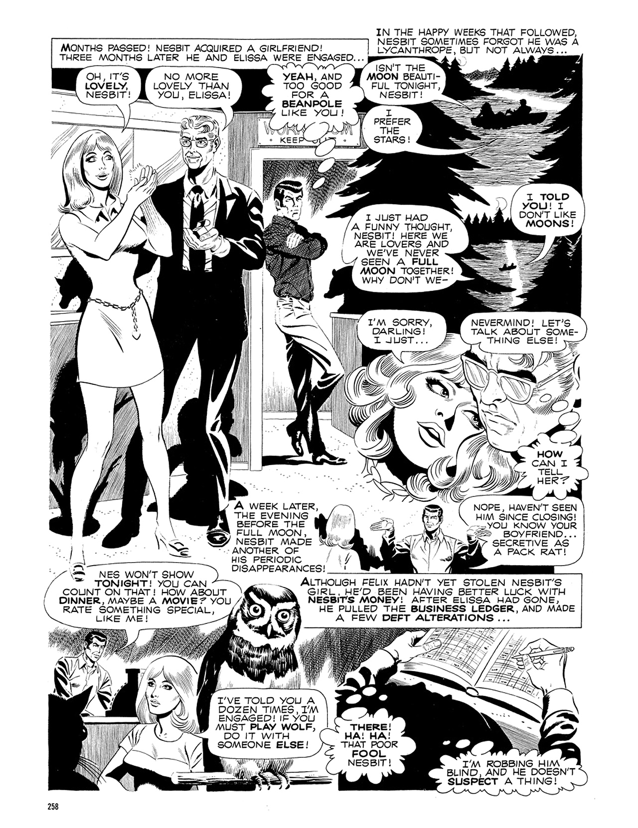 Read online Eerie Archives comic -  Issue # TPB 5 - 259