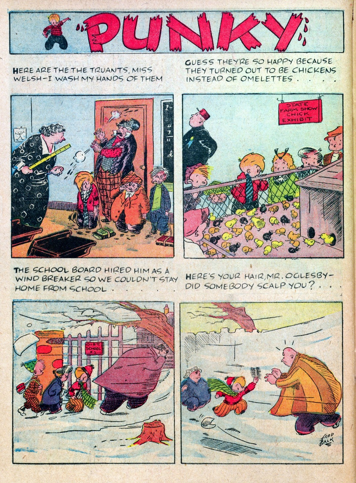 Read online Famous Funnies comic -  Issue #45 - 56