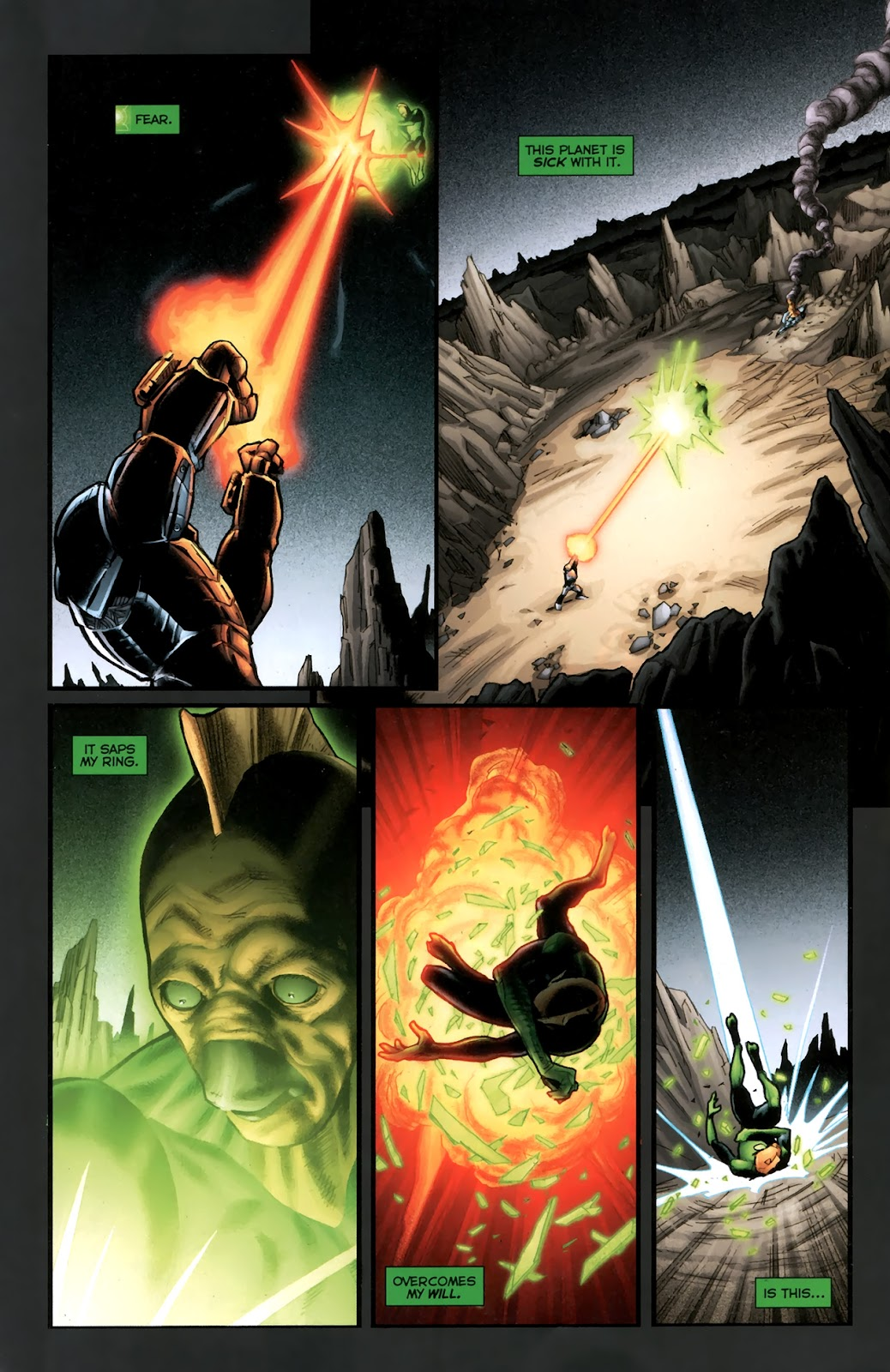 Read online Green Lantern Movie Prequel: Tomar-Re comic -  Issue # Full - 15