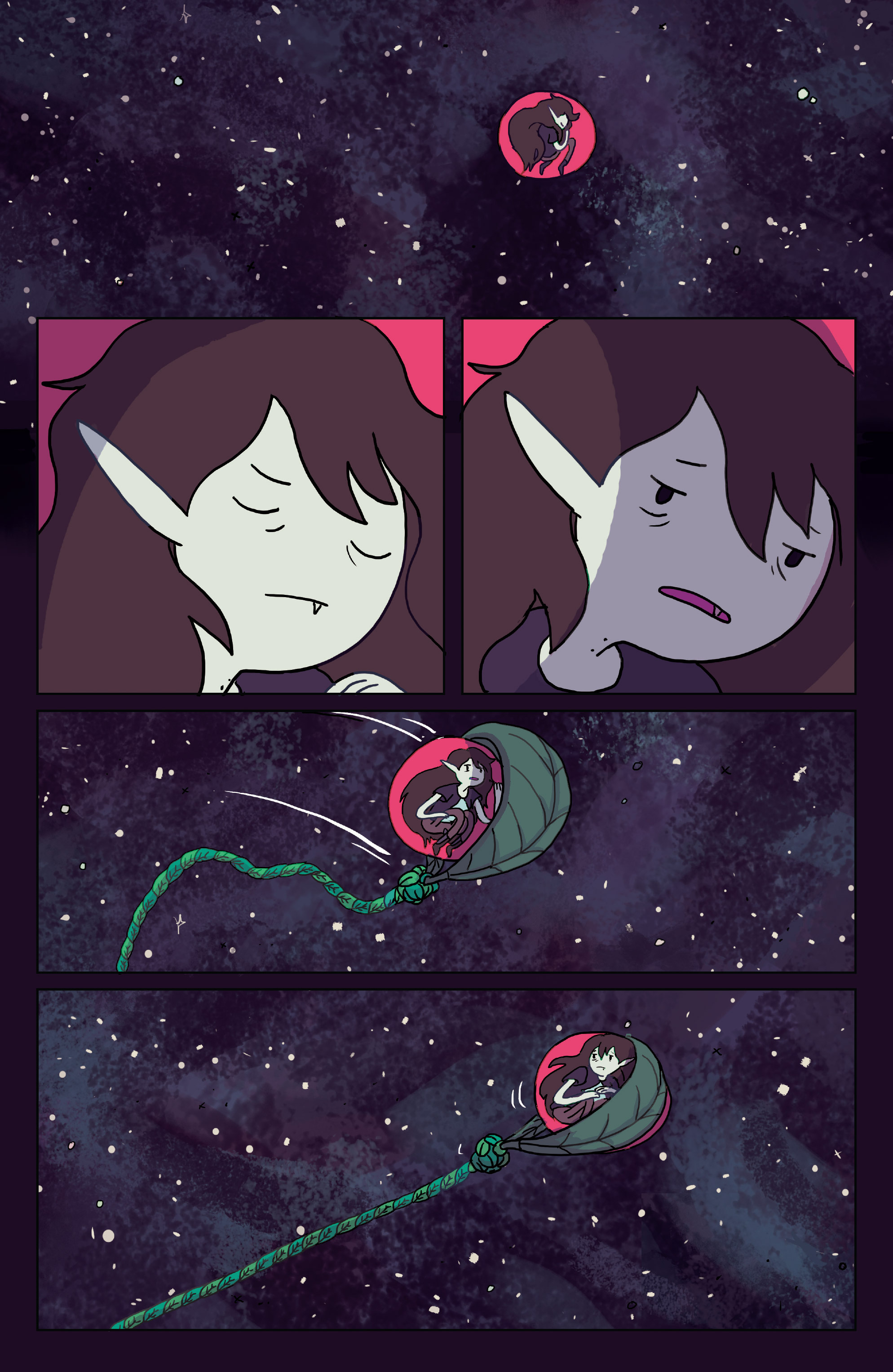 Read online Adventure Time: Marceline Gone Adrift comic -  Issue #2 - 23