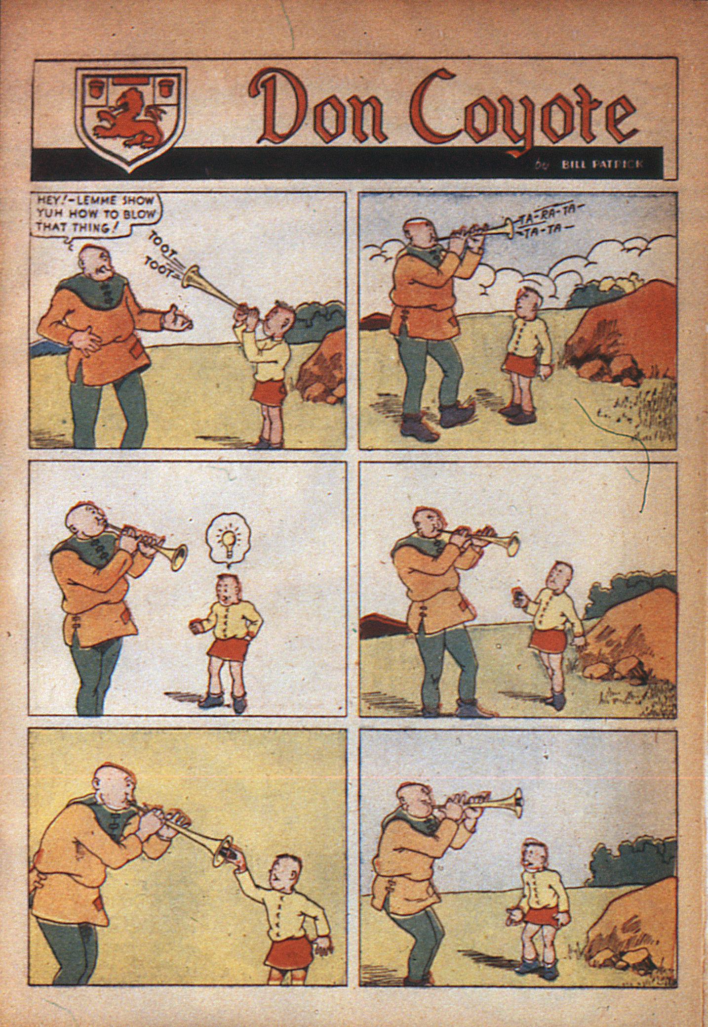 Read online Adventure Comics (1938) comic -  Issue #7 - 7