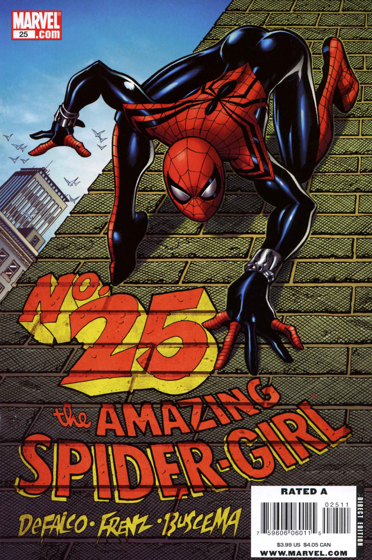 Amazing Spider-Girl 25 Page 1