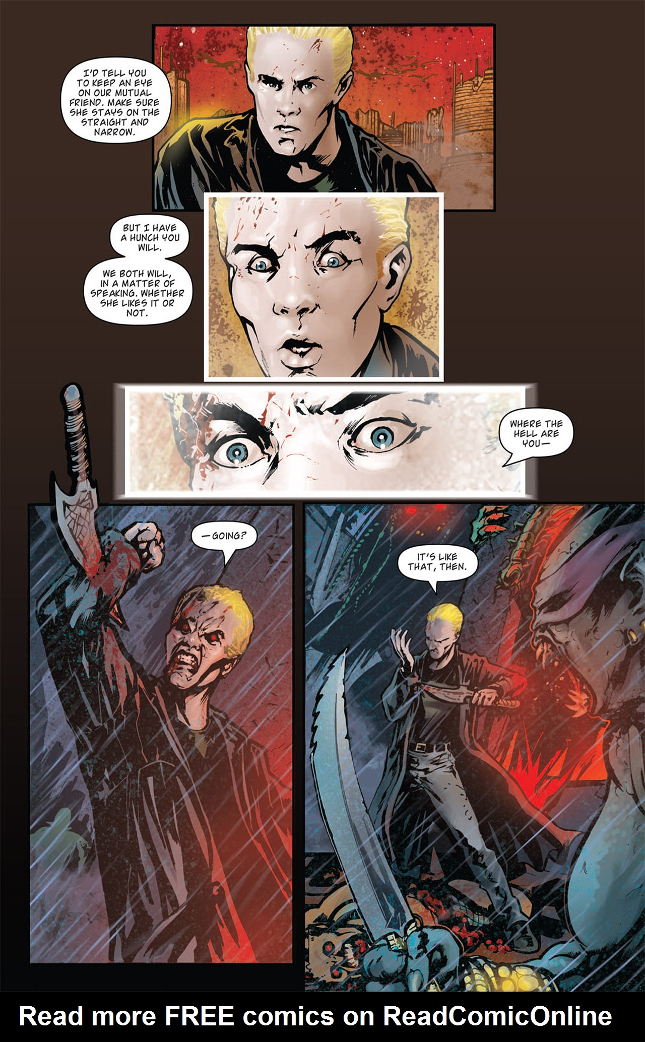Read online Angel: After The Fall comic -  Issue #16 - 14