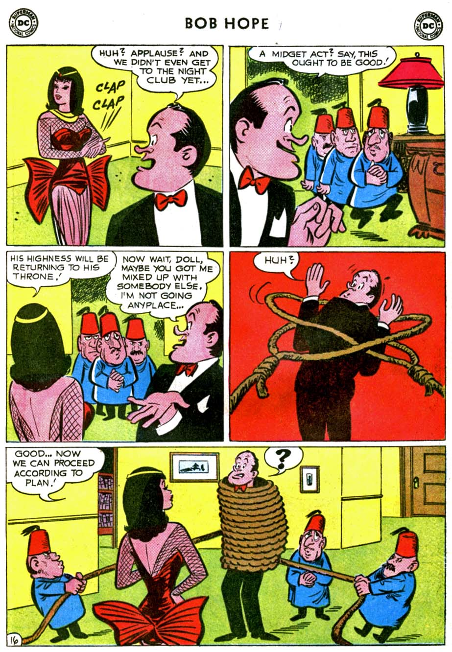 The Adventures of Bob Hope issue 71 - Page 20