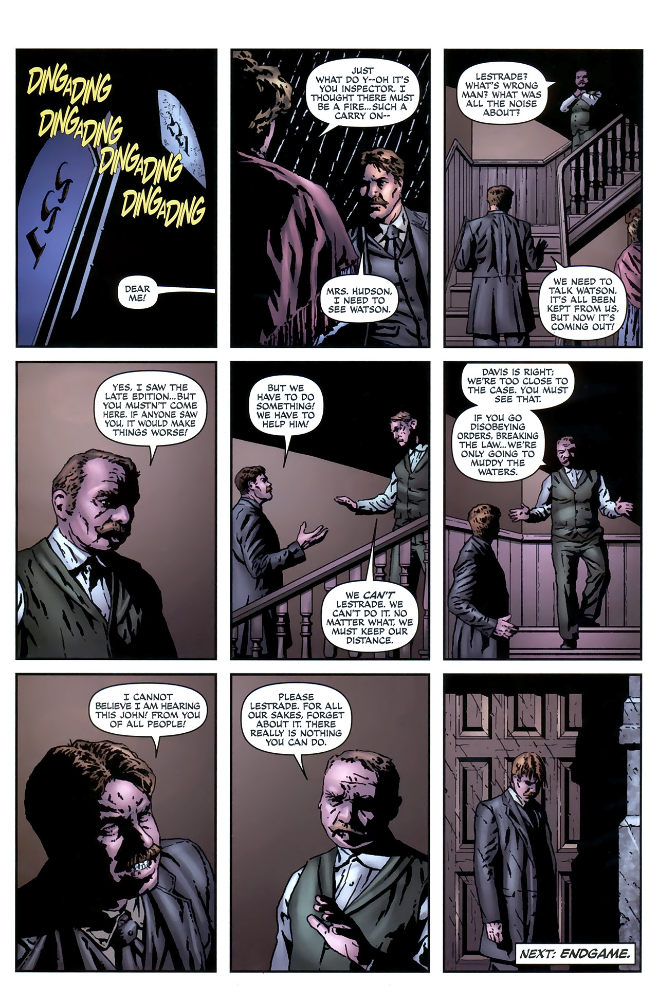 Read online Sherlock Holmes (2009) comic -  Issue #4 - 24