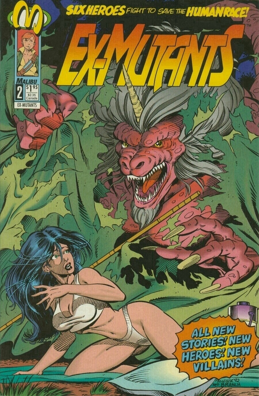 Read online Ex-Mutants comic -  Issue #2 - 1