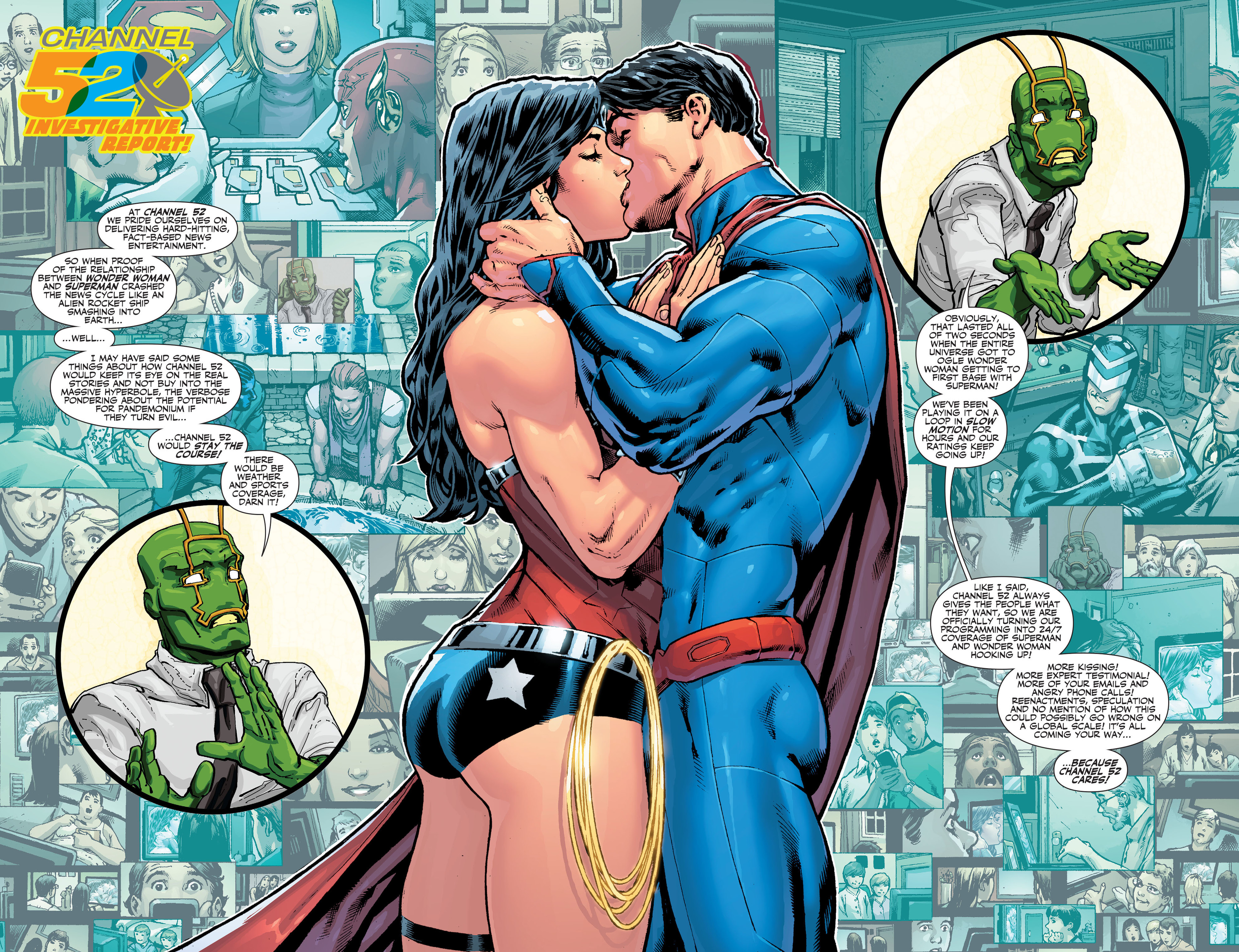 Read online Action Comics (2011) comic -  Issue #28 - 24