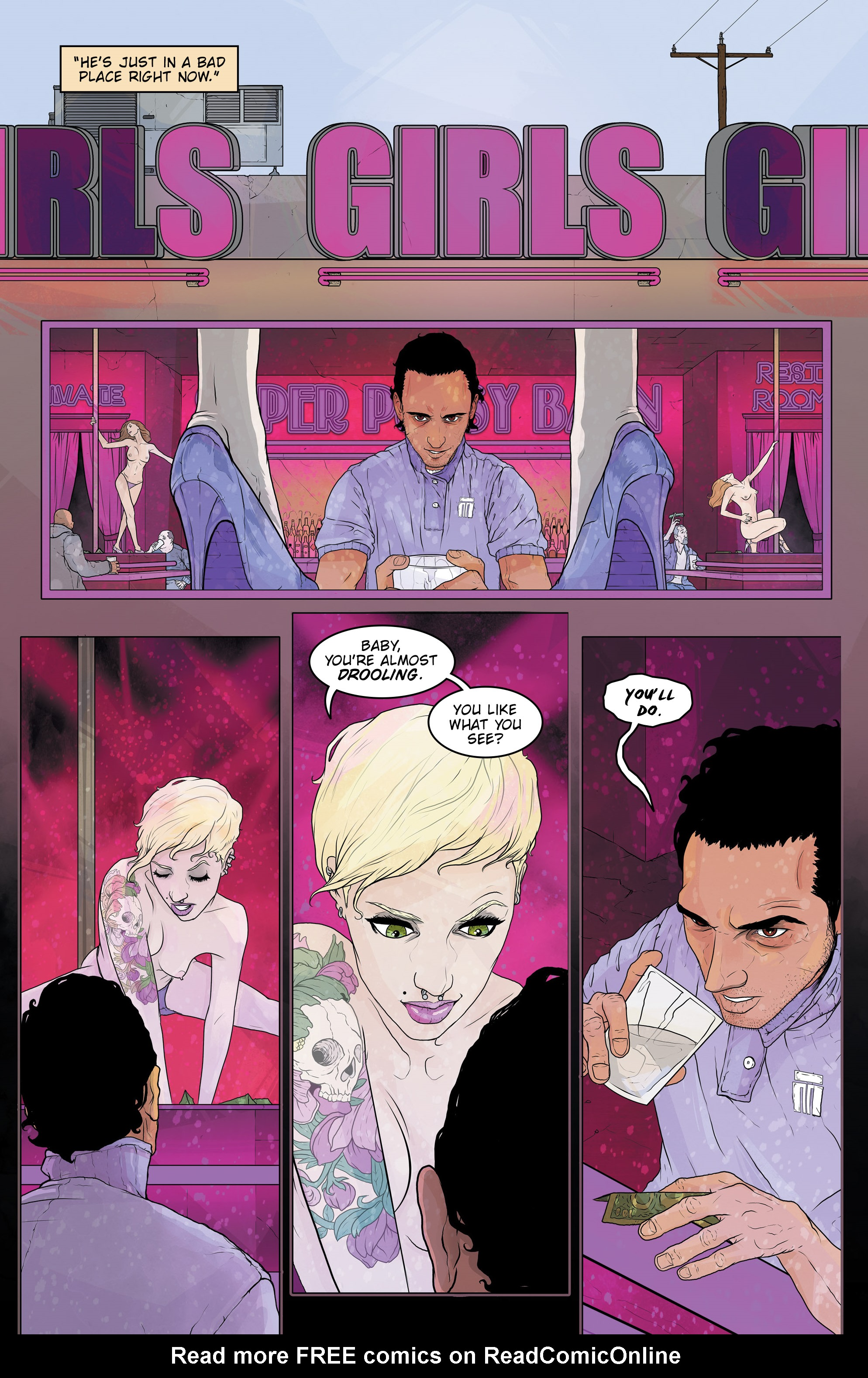 Read online Regression comic -  Issue #2 - 20