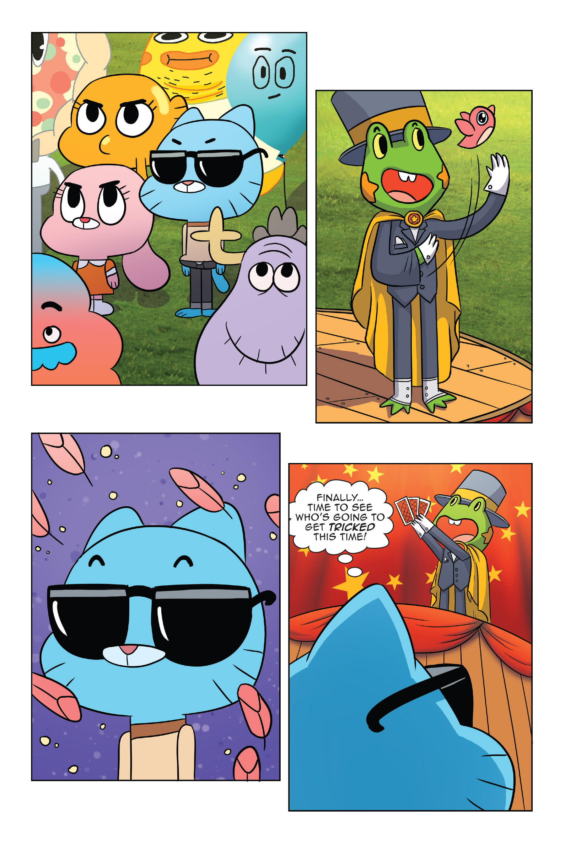 Read online The Amazing World of Gumball: Fairy Tale Trouble comic -  Issue # Full - 21