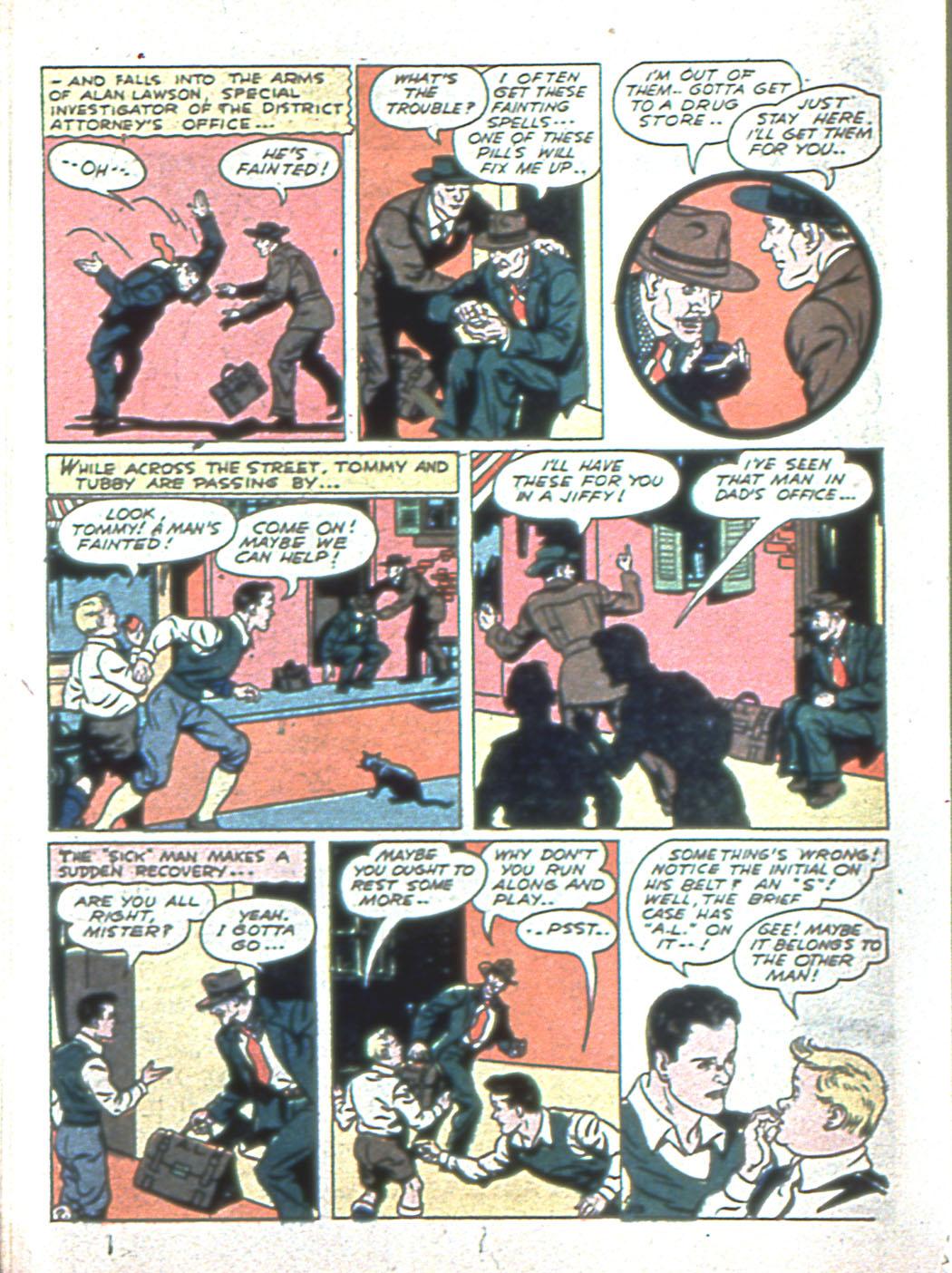 Read online Sensation (Mystery) Comics comic -  Issue #6 - 50