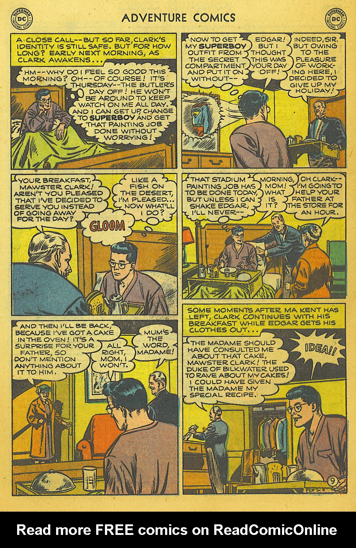 Read online Adventure Comics (1938) comic -  Issue #169 - 10