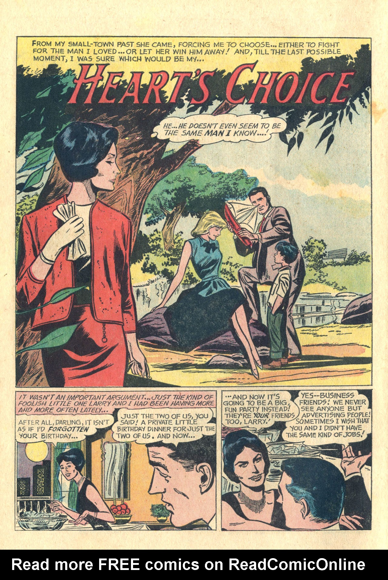 Read online Secret Hearts comic -  Issue #116 - 10