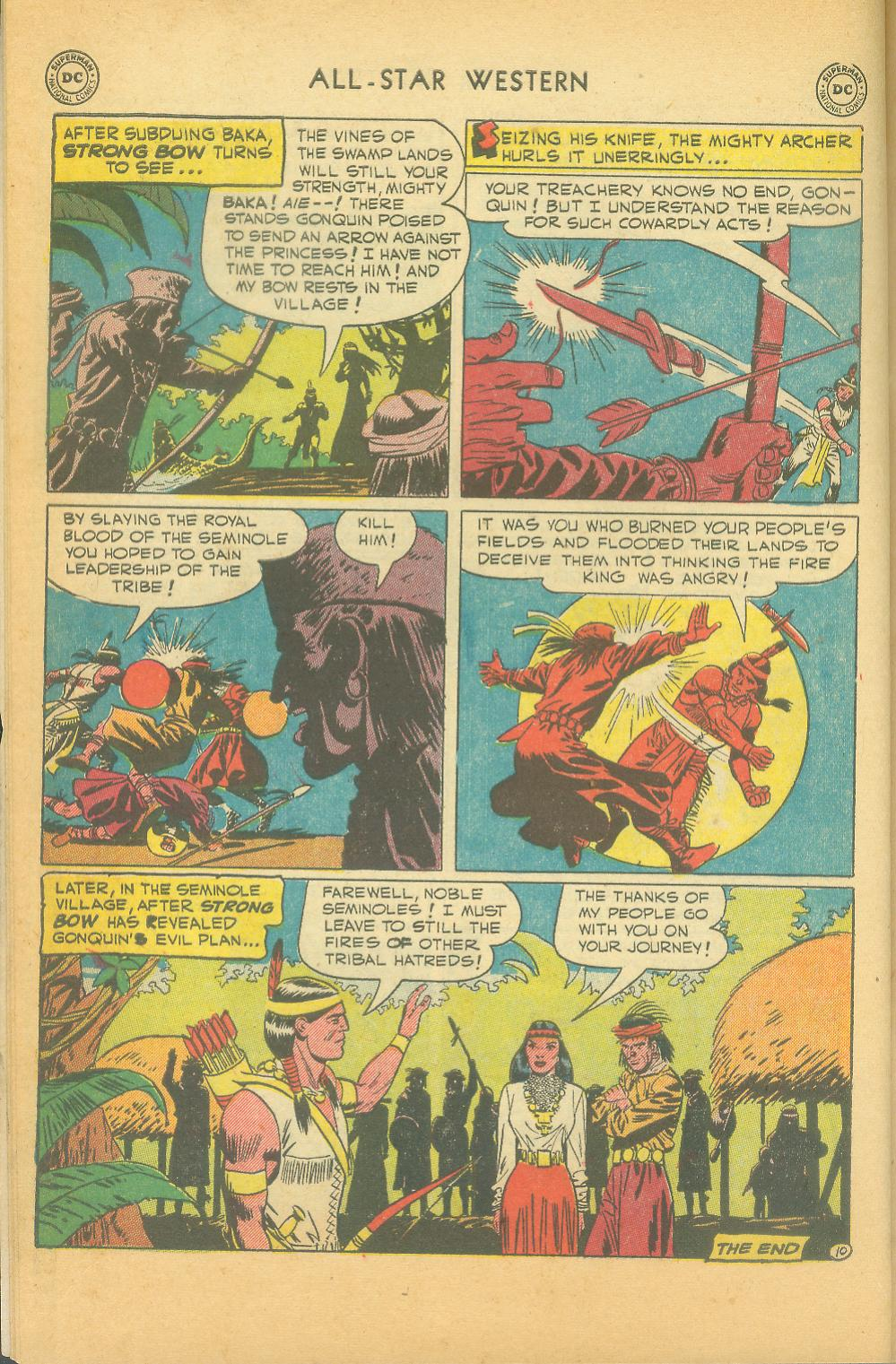 Read online All-Star Western (1951) comic -  Issue #61 - 12