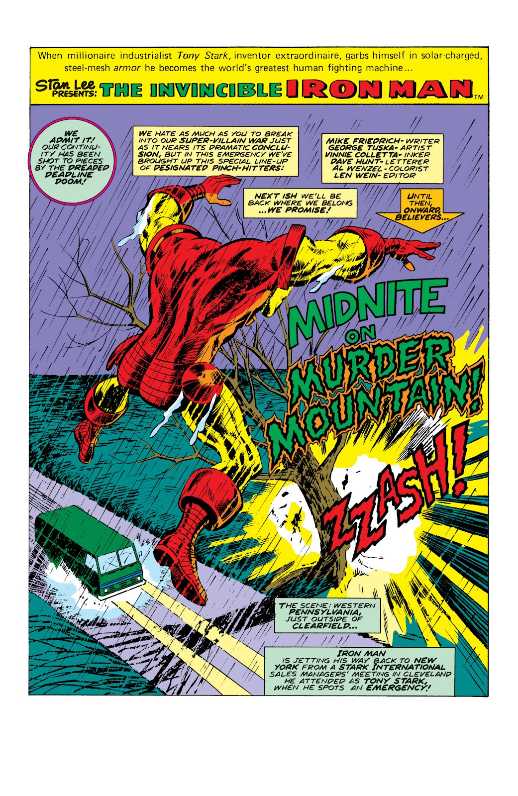 Read online Marvel Masterworks: The Invincible Iron Man comic -  Issue # TPB 10 (Part 2) - 95